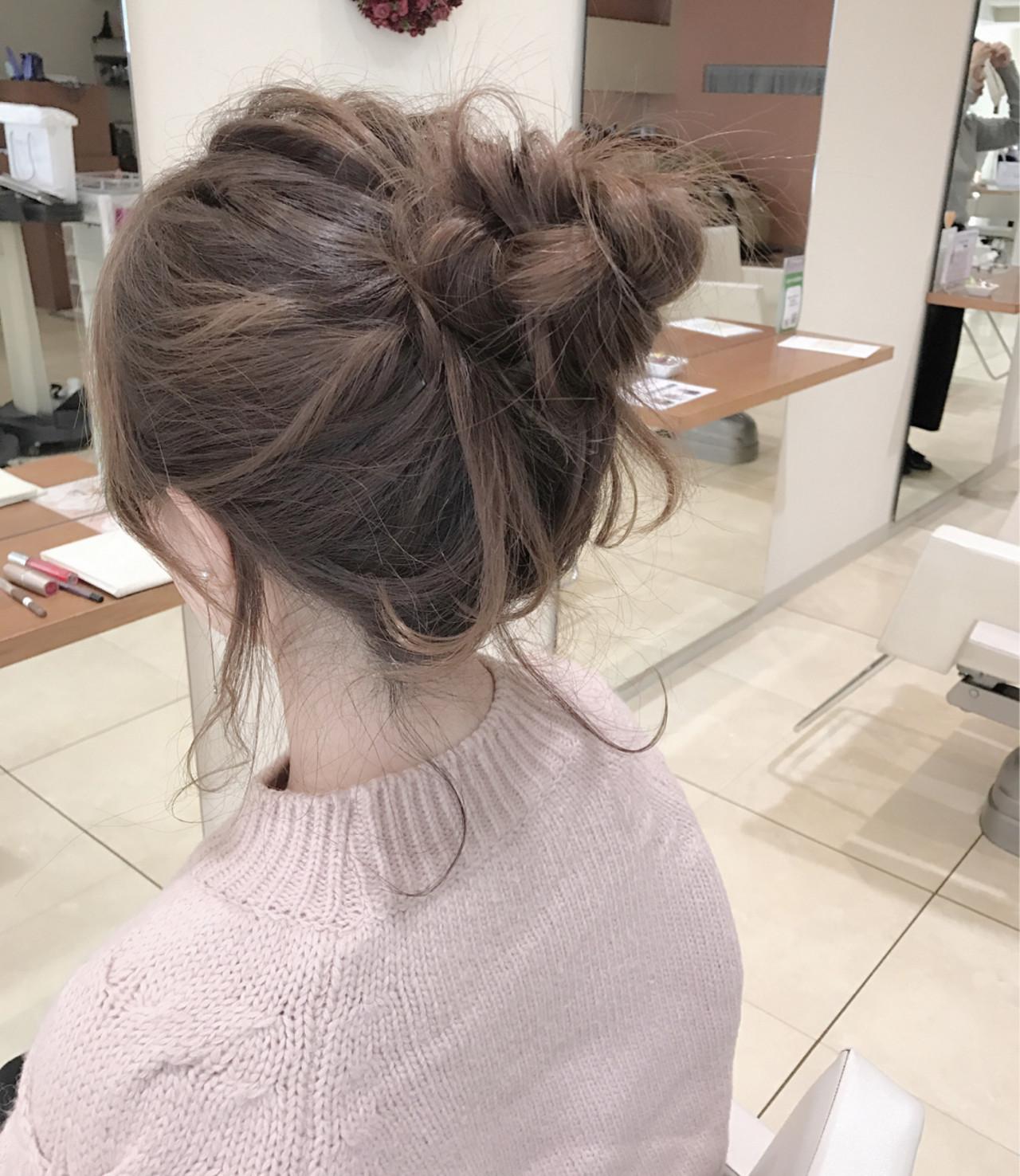 ショート ゆるふわ 大人女子 簡単ヘアアレンジ ヘアスタイルや髪型の写真・画像 | 小田 孝一 / Oase makoto brands