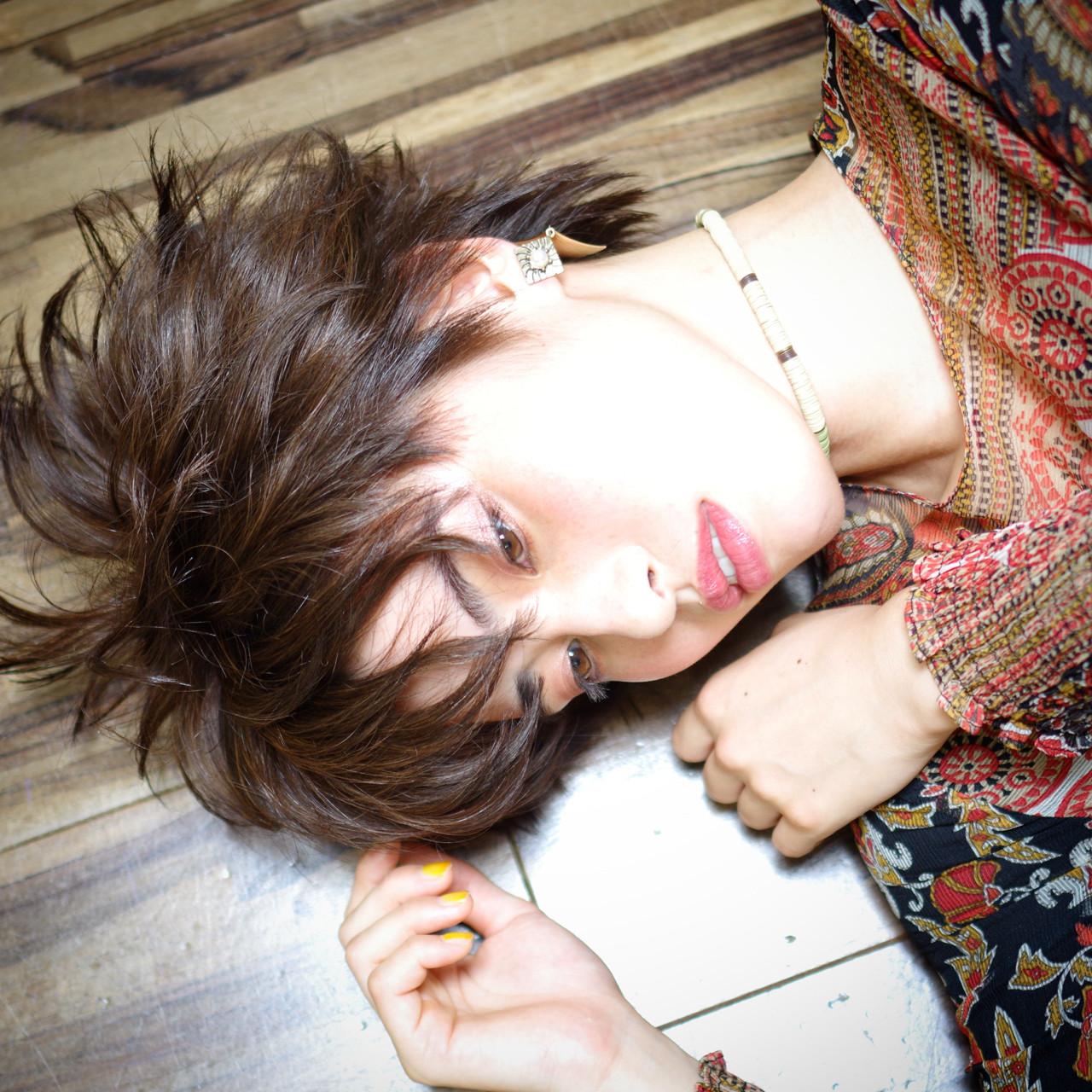 色気 フェミニン モード 大人女子 ヘアスタイルや髪型の写真・画像