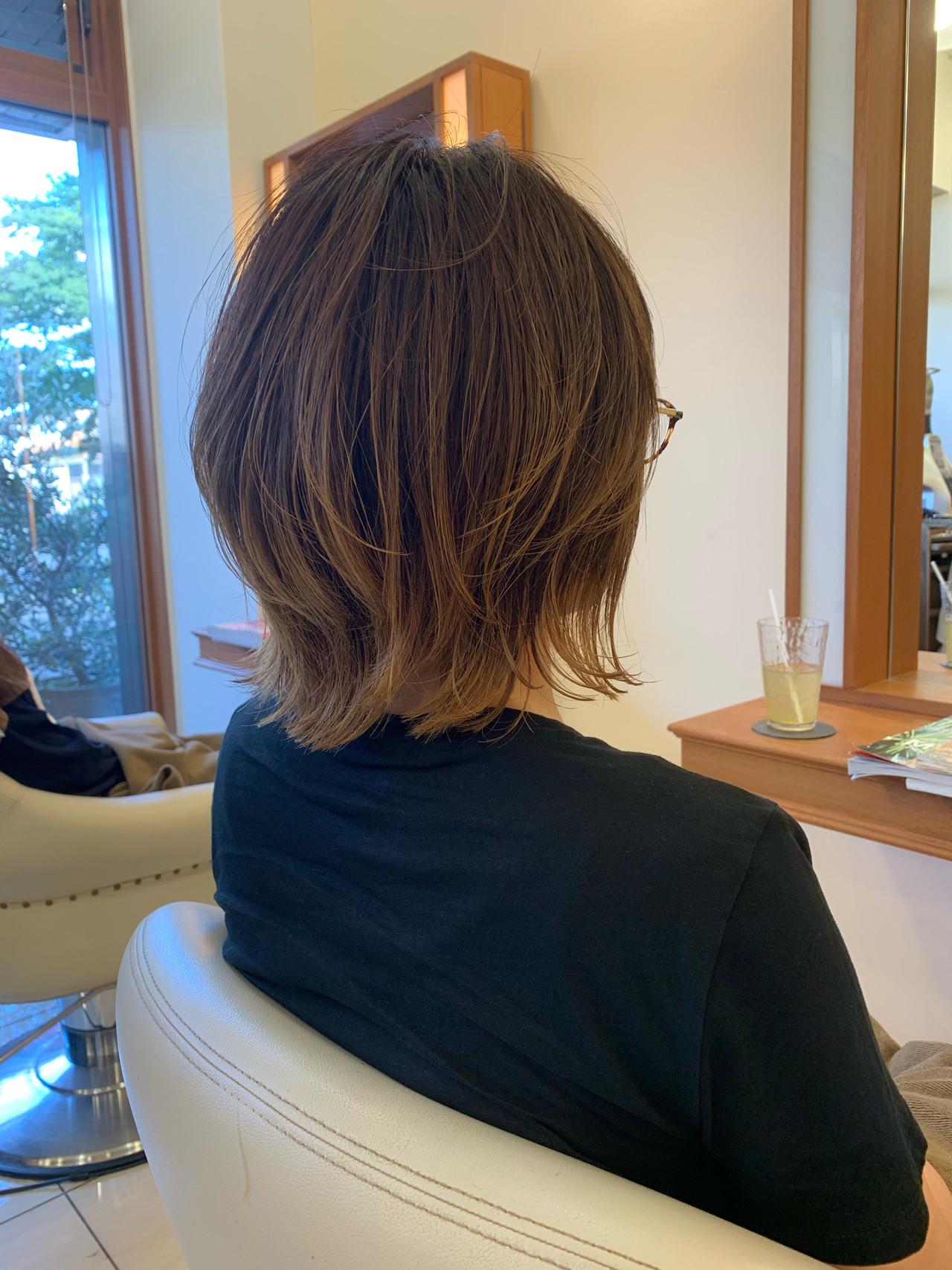 まとまるボブ 前下がり  ふんわり ヘアスタイルや髪型の写真・画像 | 【つくば美容師】ショートヘア愛好家/矢崎 翔太 / ジールサロン