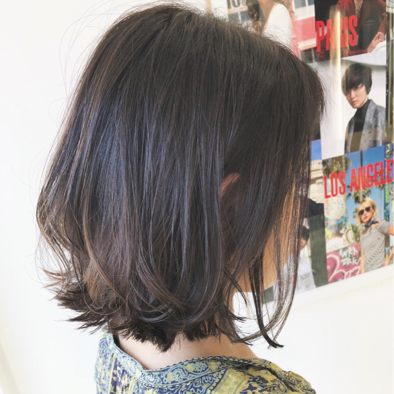 オフィス ウェーブ ナチュラル 簡単ヘアアレンジ ヘアスタイルや髪型の写真・画像 | 越後 裕介 (Yusuke Echigo) / mod's hair 仙台長町(モッズ・ヘア)