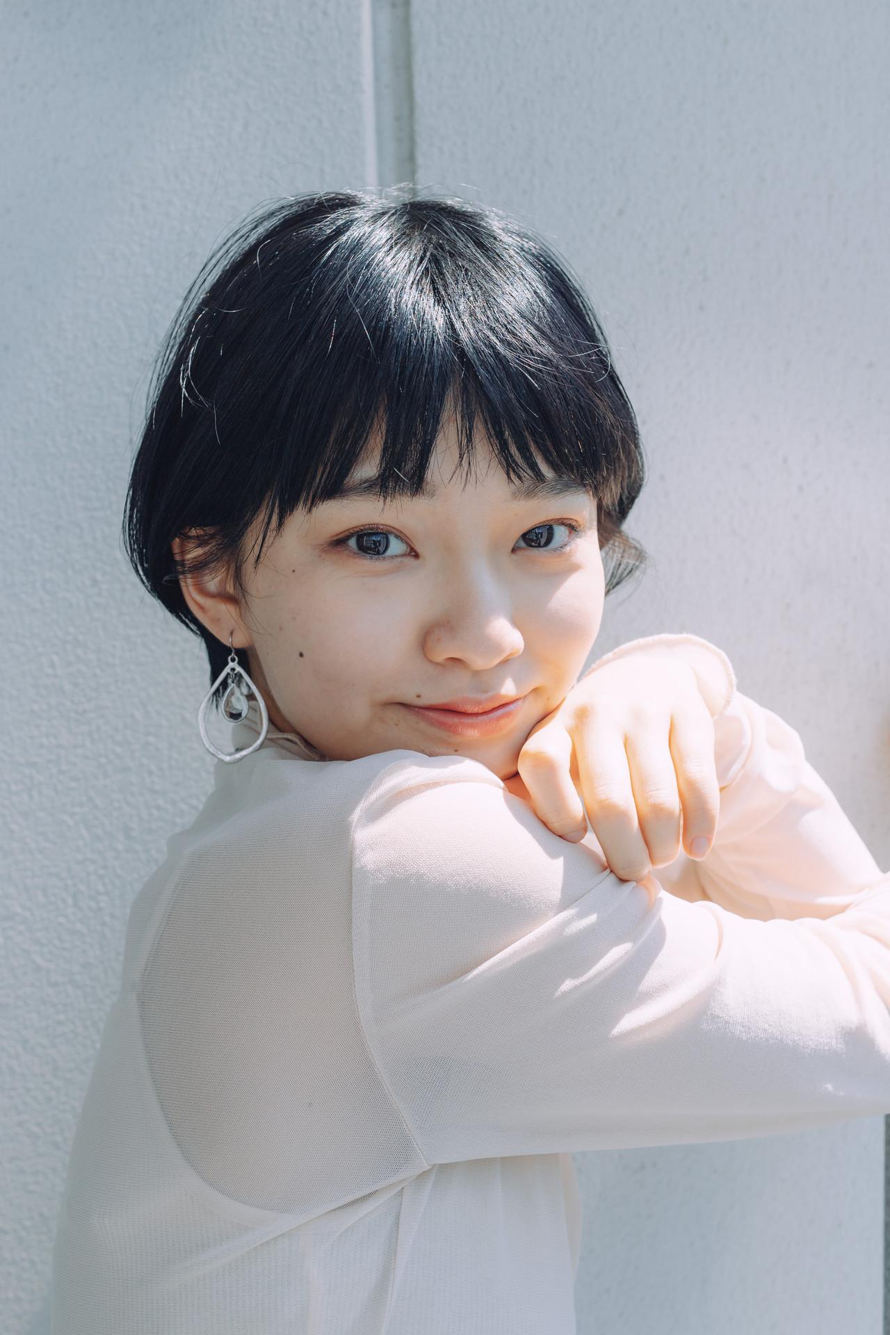ナチュラル 小顔ショート ショートヘア ショートボブ ヘアスタイルや髪型の写真・画像 | 児玉善央 / GARDEN harajuku