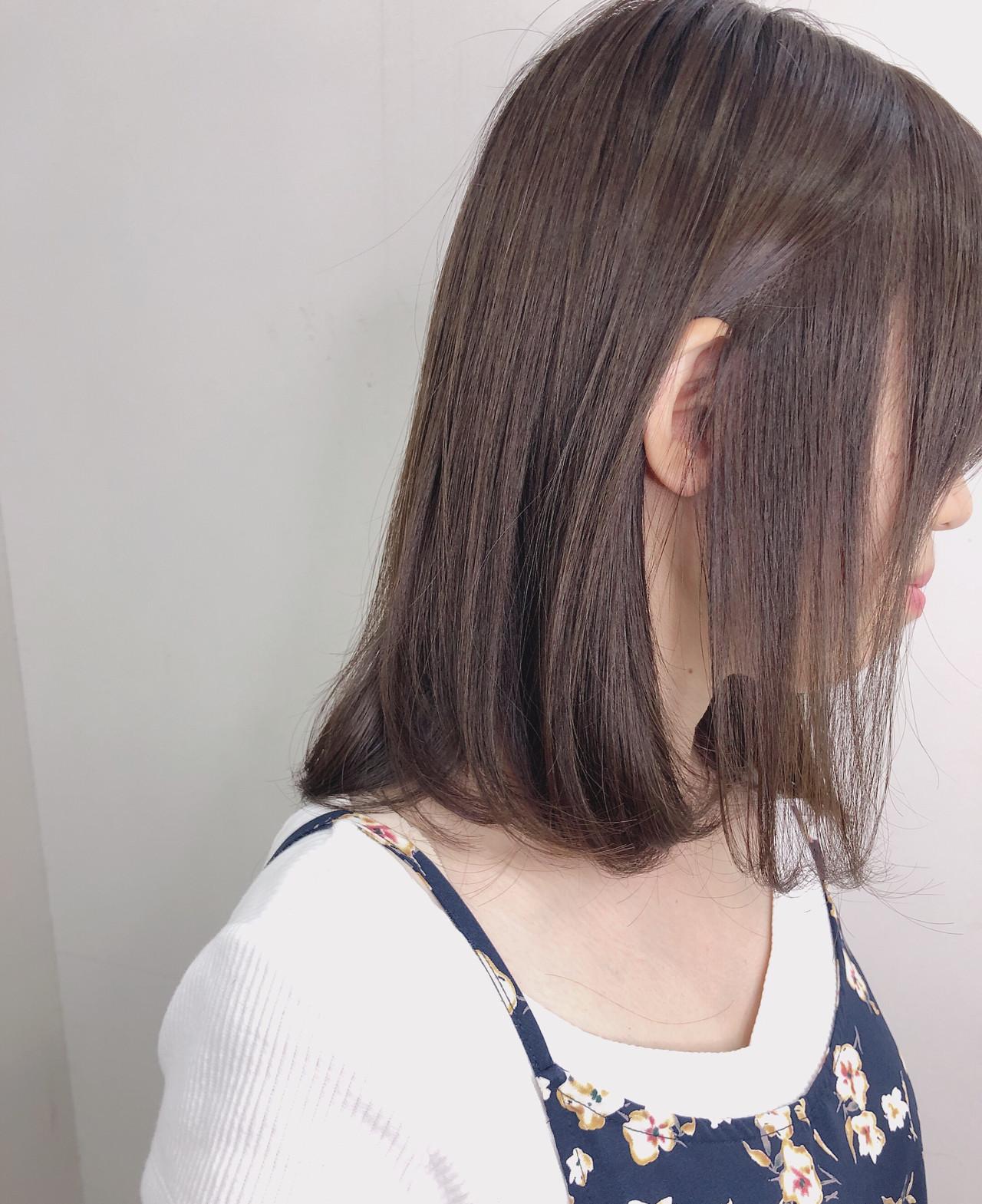 デート ヘアカラー 透明感カラー ナチュラル Accorddoux Ryosuke