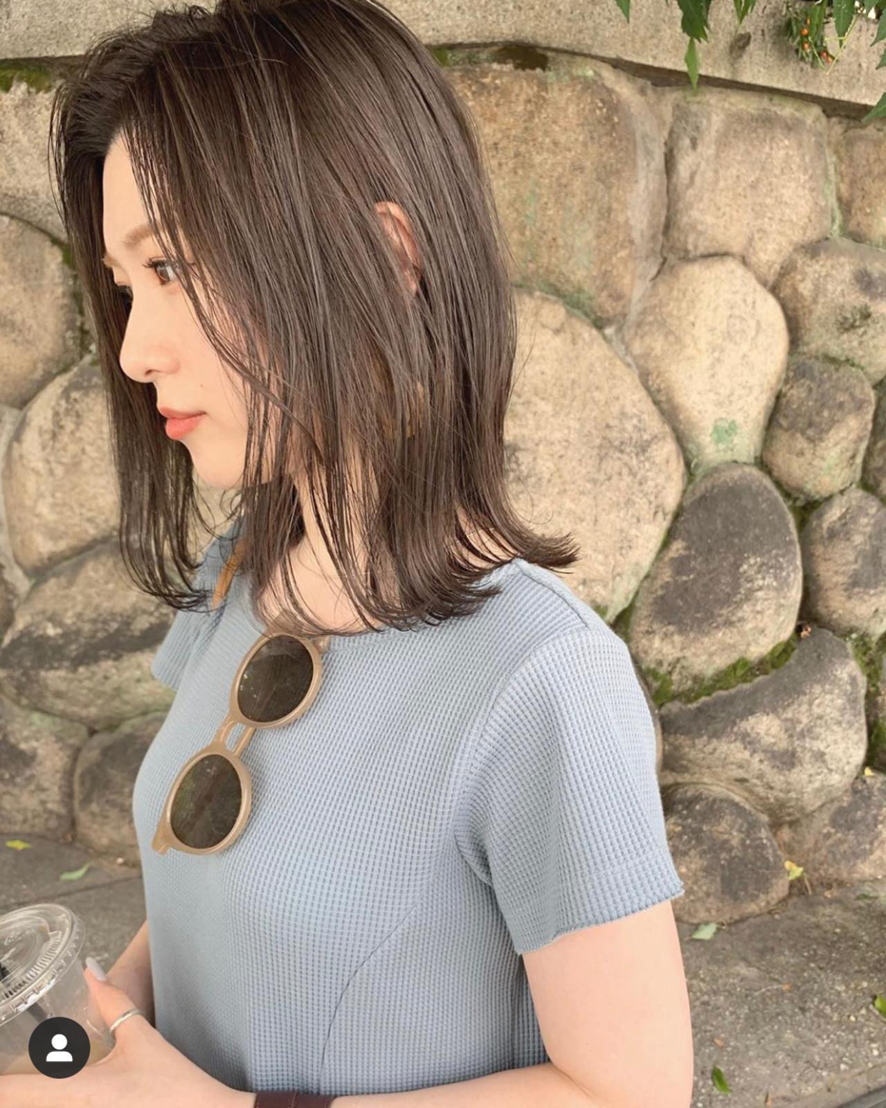 切りっぱなしボブ ミニボブ ボブ ショートヘア ヘアスタイルや髪型の写真・画像 | KENTO.NOESALON / NOE SALON