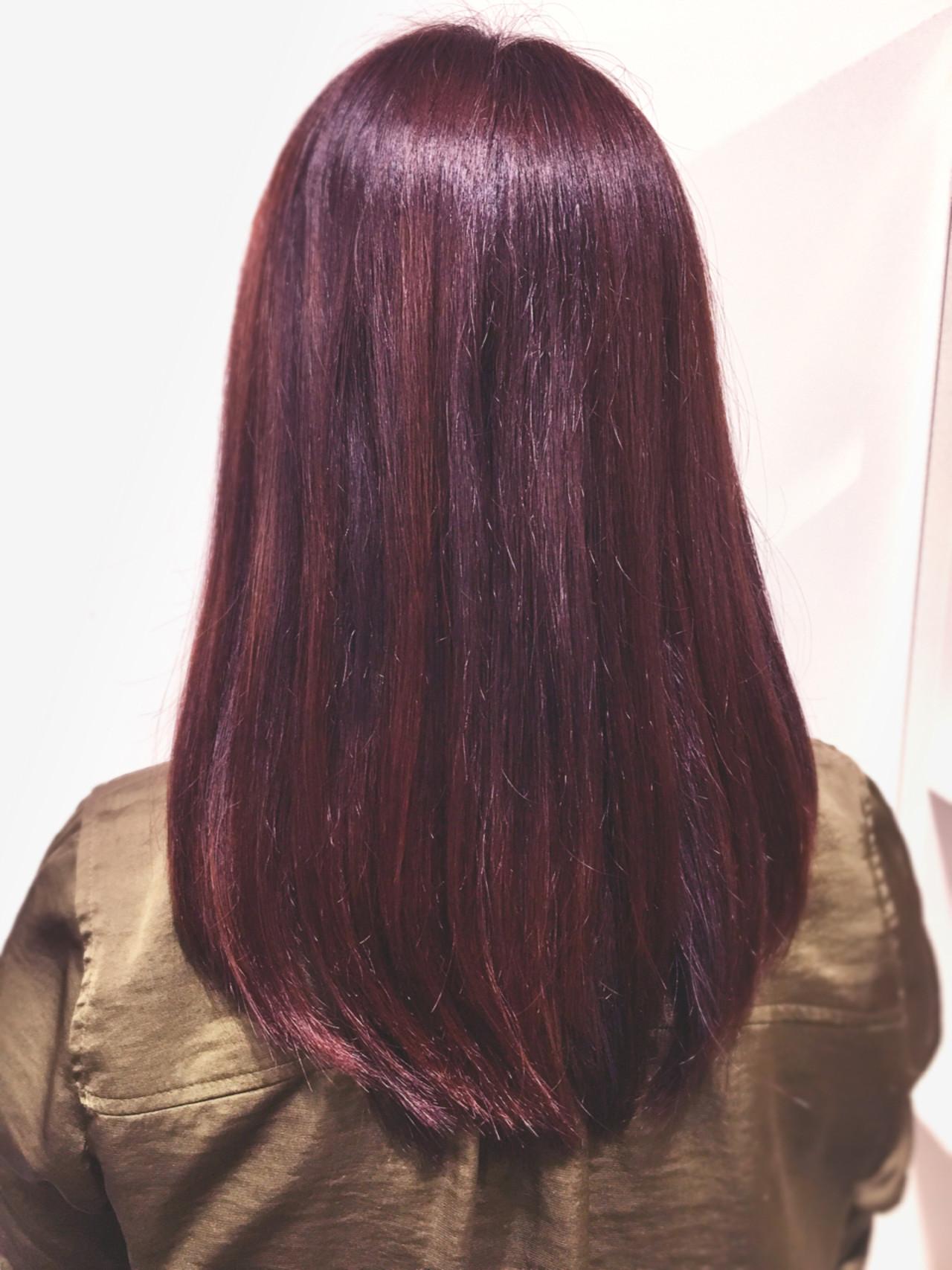 ガーリー ハイライト グラデーションカラー ブリーチ ヘアスタイルや髪型の写真・画像