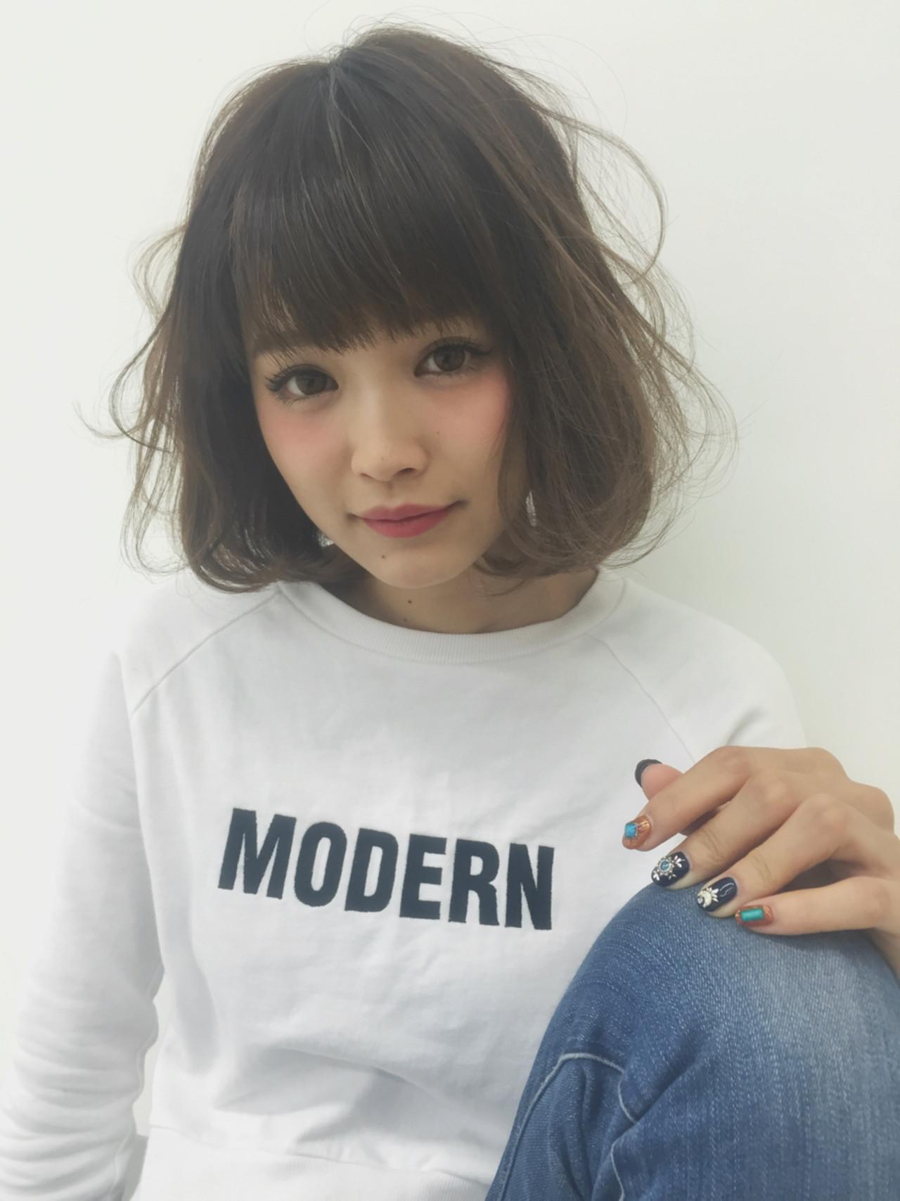 透明感 大人かわいい ストリート モテ髪 ヘアスタイルや髪型の写真・画像 | 兼井 遼 / wille