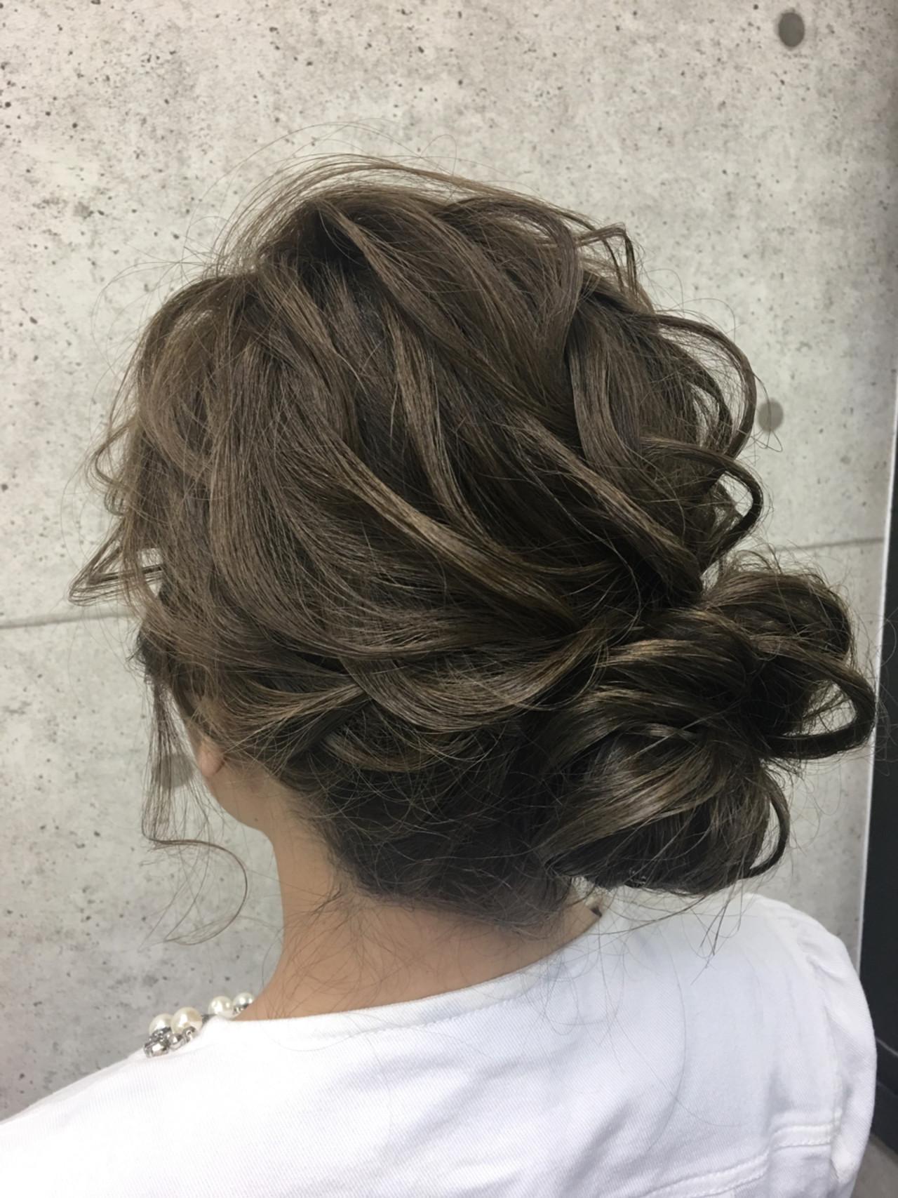 パーティ 成人式 エレガント アップスタイル ヘアスタイルや髪型の写真・画像 | シンディー(店長)/shinji / hair make salon Revier