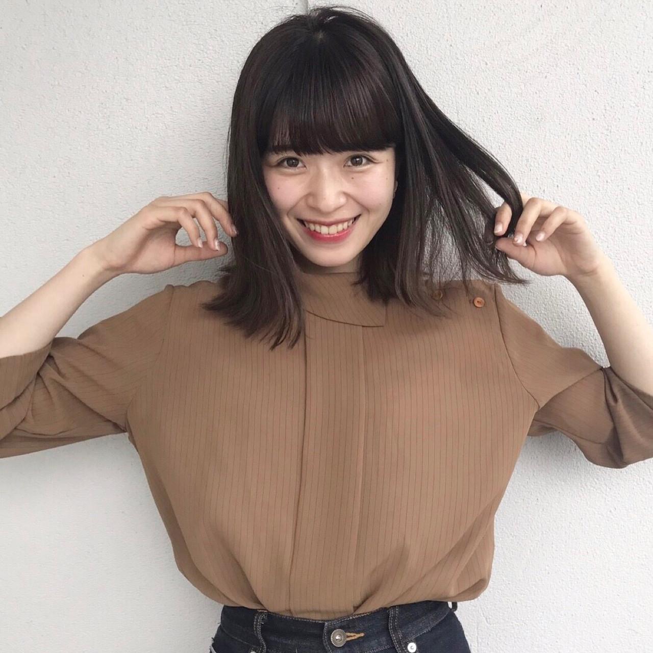 ナチュラル デート ミディアム 女子会 ヘアスタイルや髪型の写真・画像   佐々木拓巳 / GARDEN harajuku
