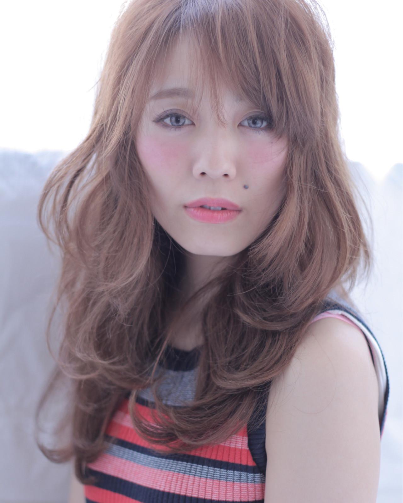 フェミニン 大人女子 小顔 パーマ ヘアスタイルや髪型の写真・画像 | 石田 学史 / DISHEL