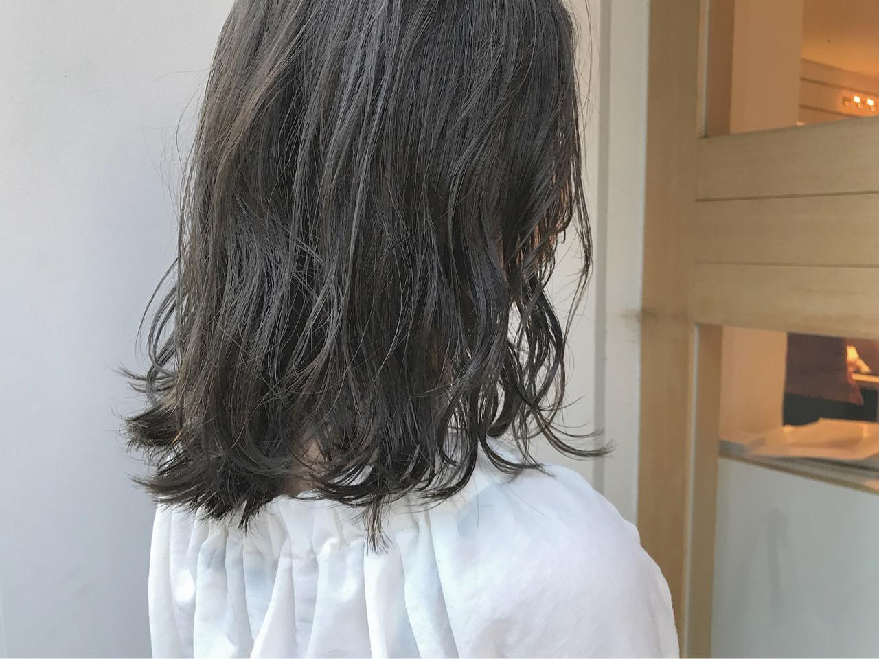ハイライト 透明感 秋 ボブ ヘアスタイルや髪型の写真・画像 | KENTO.NOESALON / NOE SALON