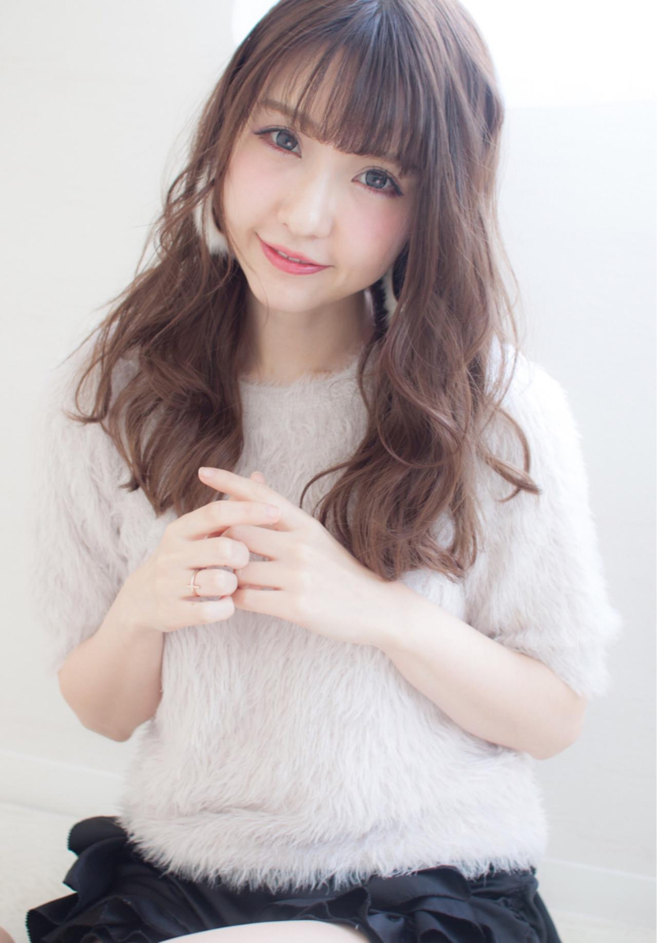 大人女子 小顔 セミロング デート ヘアスタイルや髪型の写真・画像 | 今井 寛子 / LOUIMADNA栄