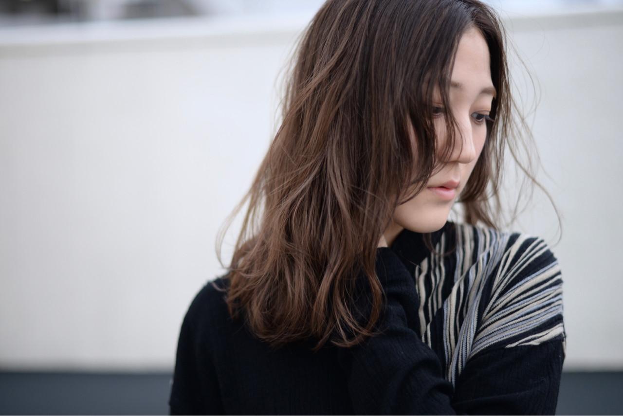 外国人風 ストリート アッシュ ハイライト ヘアスタイルや髪型の写真・画像