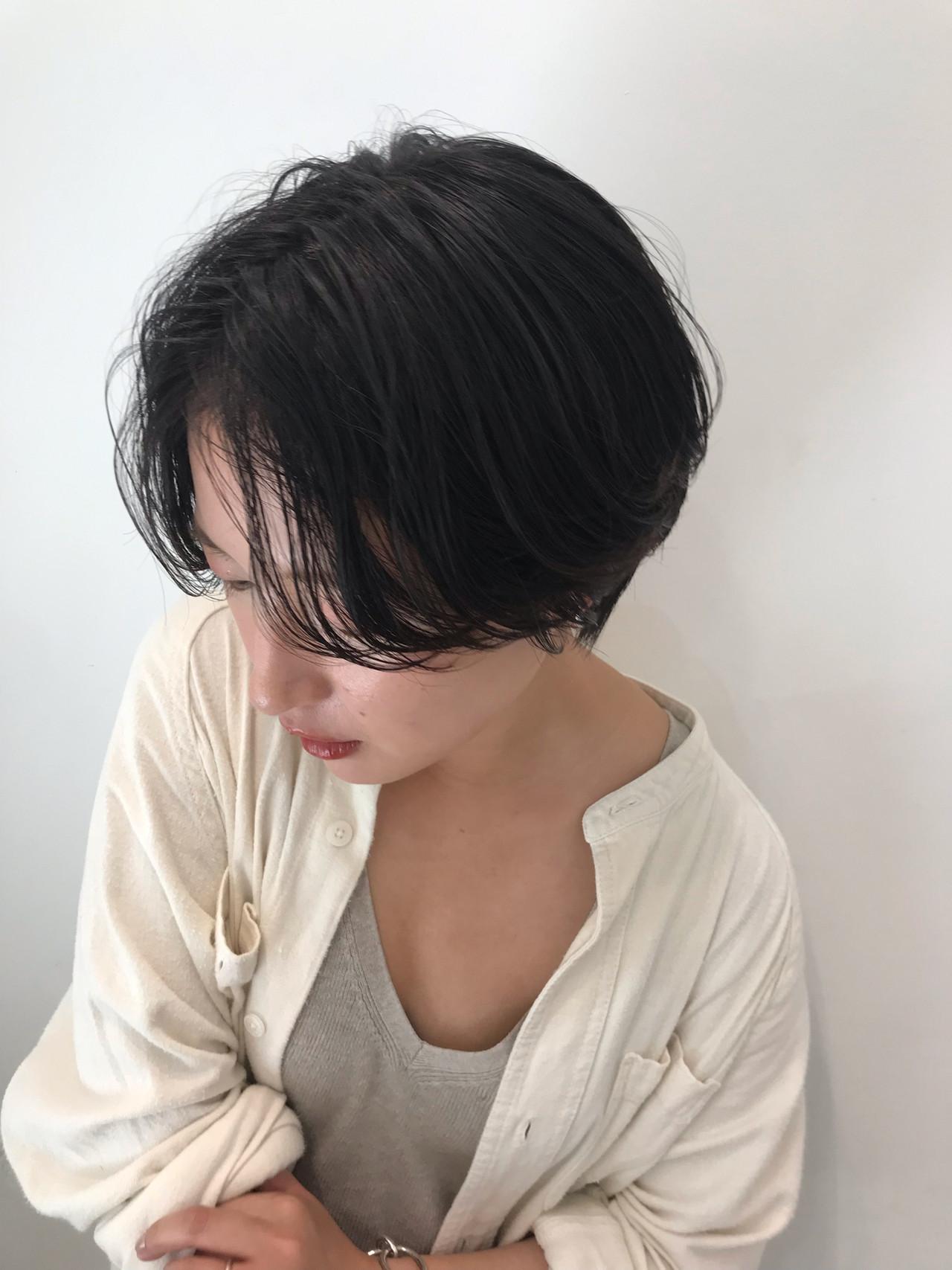 ショート ゆるふわ 大人かわいい ナチュラル ヘアスタイルや髪型の写真・画像   大人可愛い【ショート・ボブが得意】つばさ / VIE
