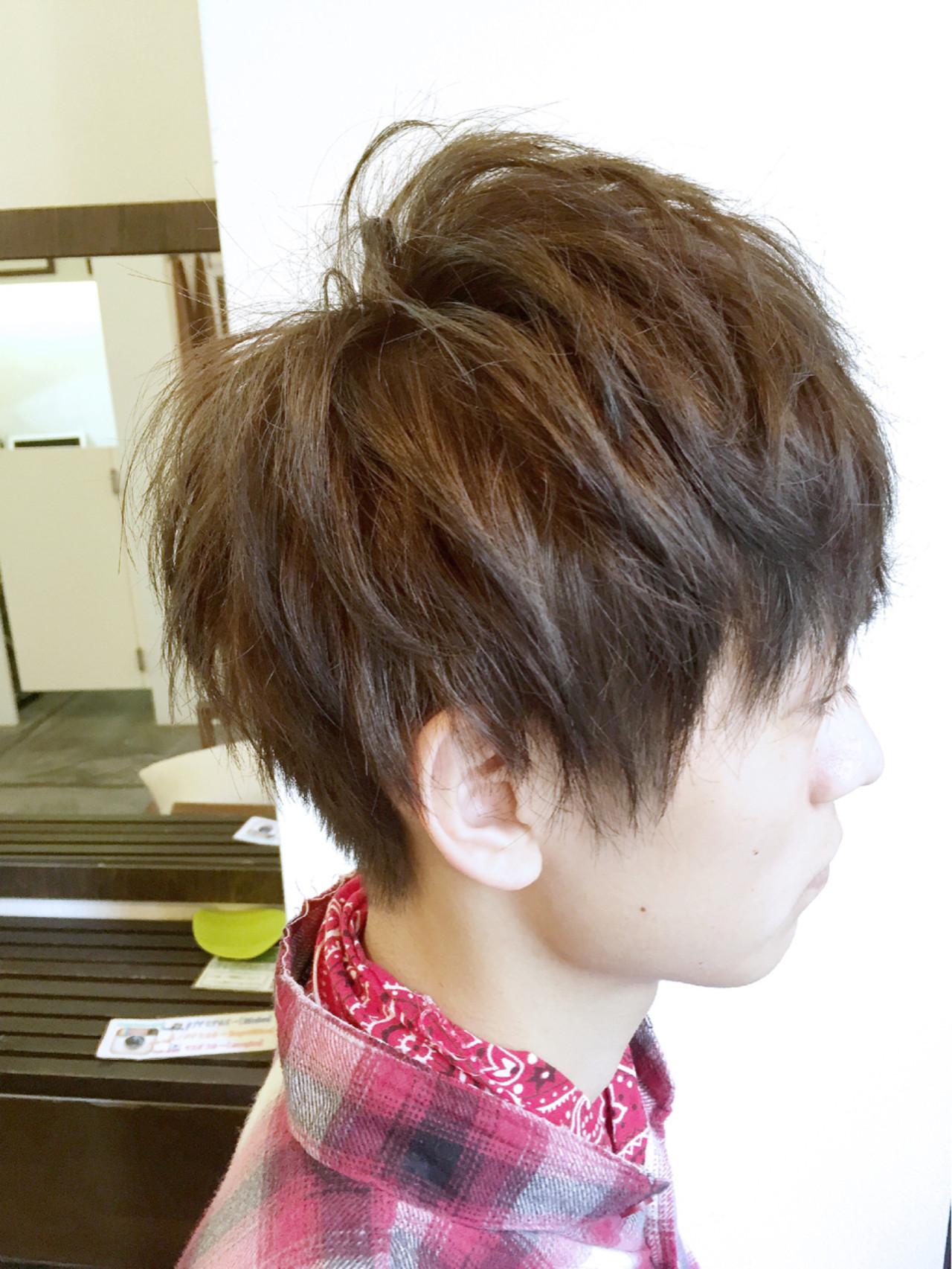 メンズ 坊主 ショート モテ髪 ヘアスタイルや髪型の写真・画像