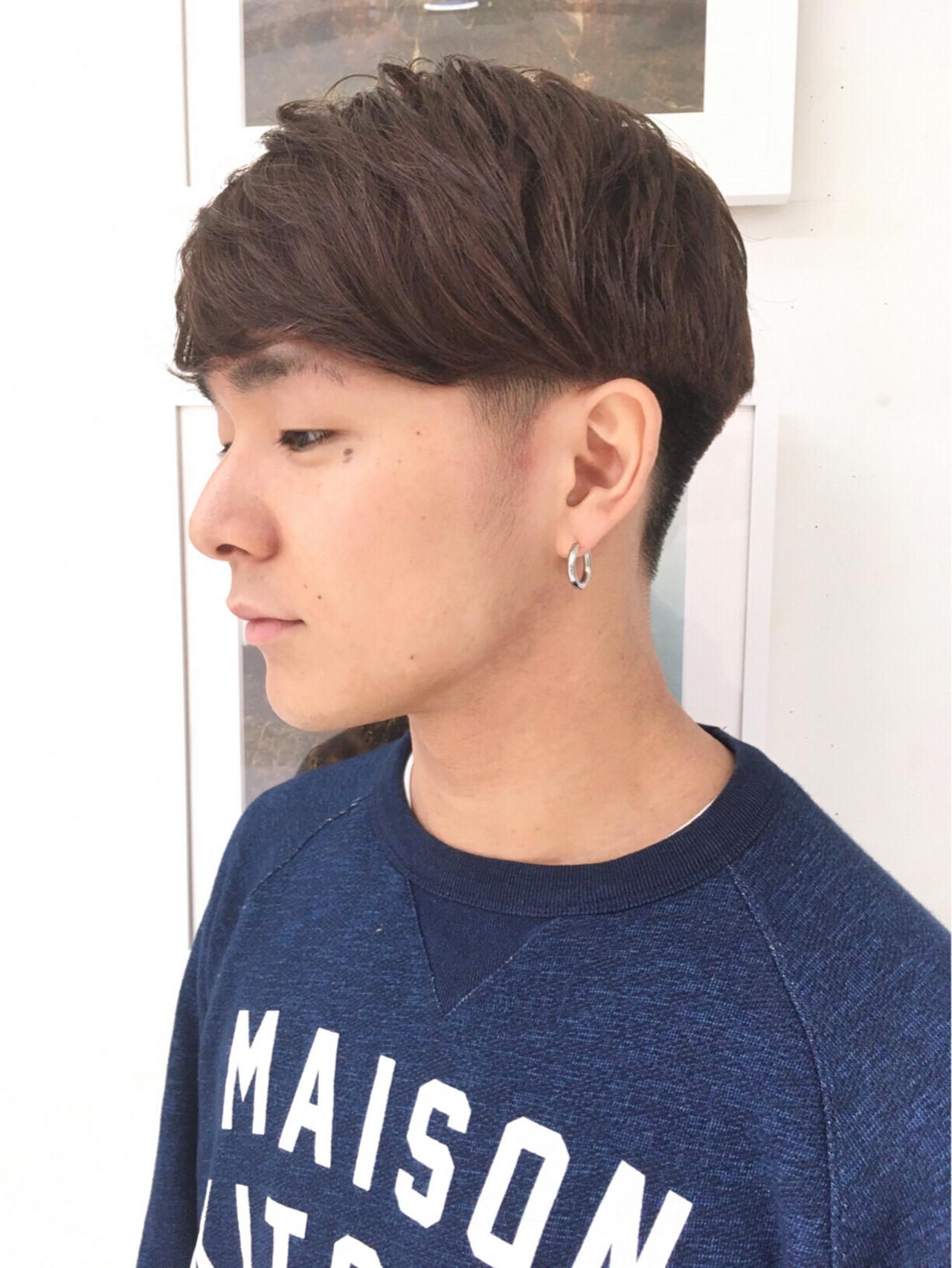 マッシュ ストリート かっこいい ショート ヘアスタイルや髪型の写真・画像   イシガキ ダイスケ / C-LOVe 中目黒