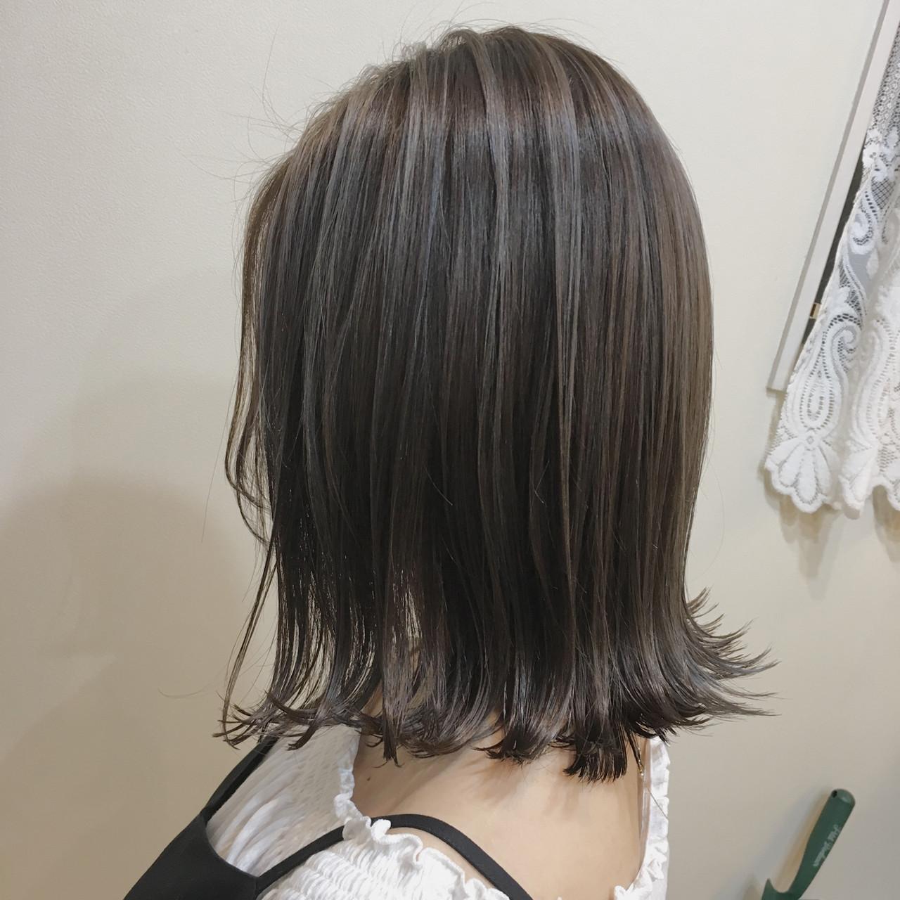 ナチュラル 3Dハイライト コントラストハイライト 大人ハイライト ヘアスタイルや髪型の写真・画像 | 《町田の美容師》キタダヒロキ / Hair Frais Make