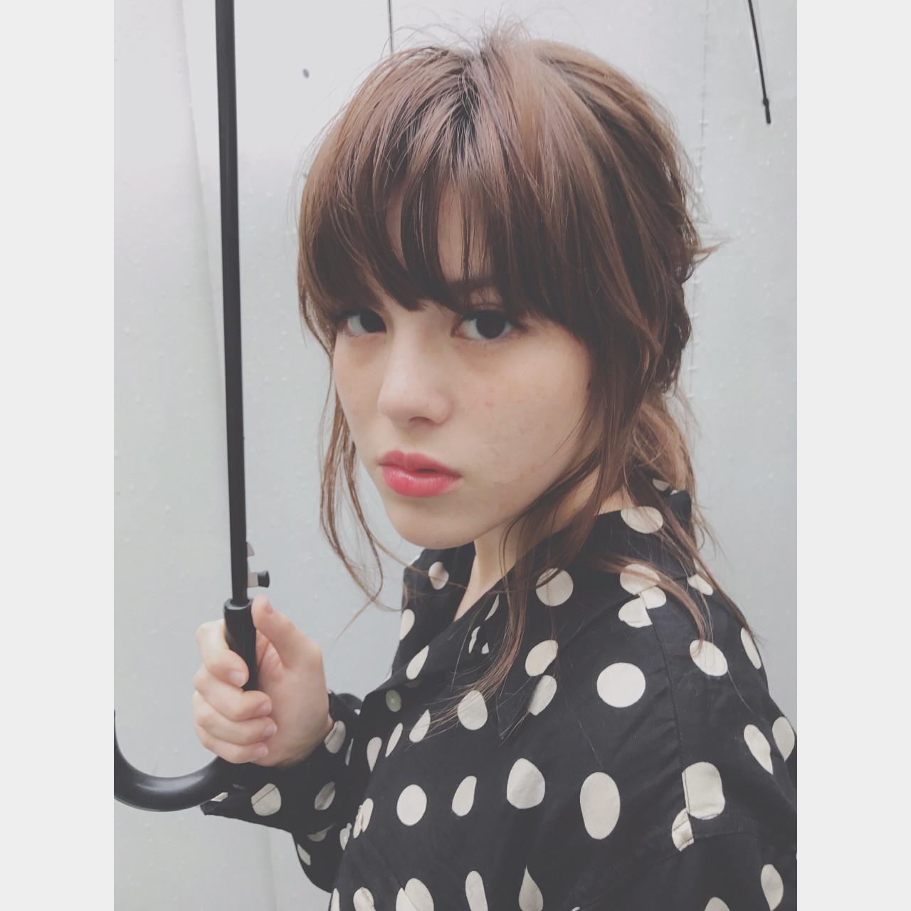 ヘアアレンジ 大人かわいい 似合わせ ストリート ヘアスタイルや髪型の写真・画像   間島 勇大 / Gigi