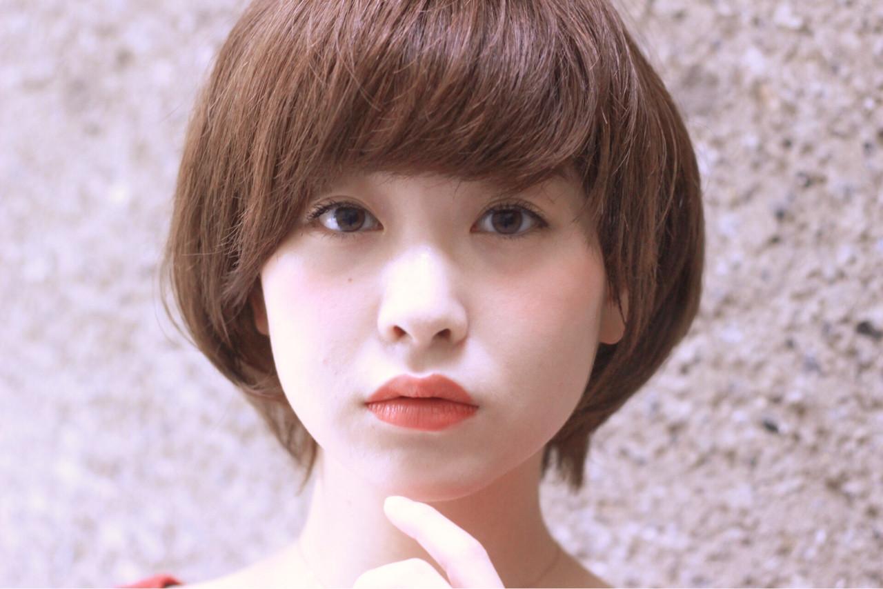 大人かわいい ショート アッシュ フェミニン ヘアスタイルや髪型の写真・画像
