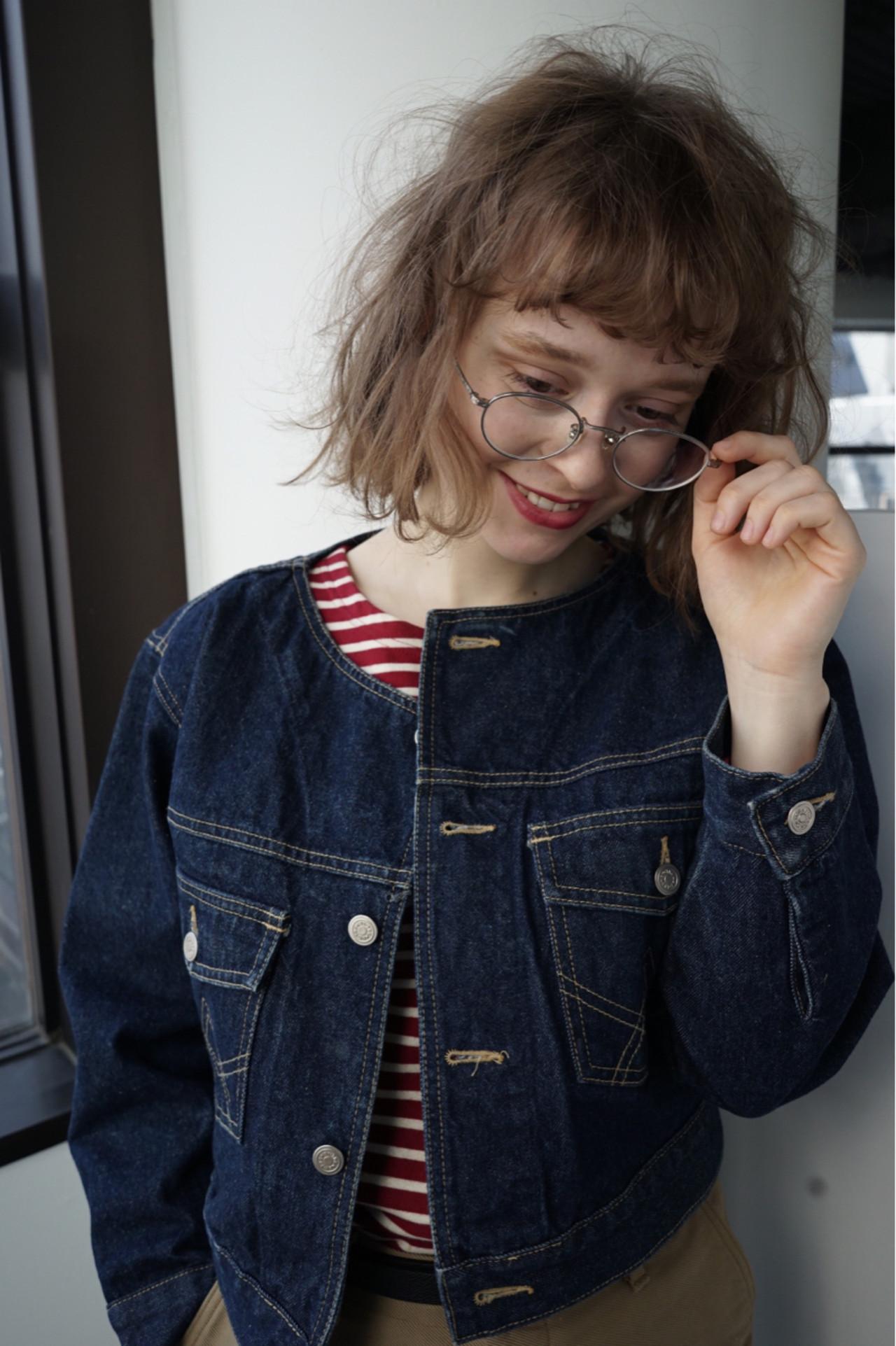 抜け感 ゆるふわ アンニュイ ボブ ヘアスタイルや髪型の写真・画像