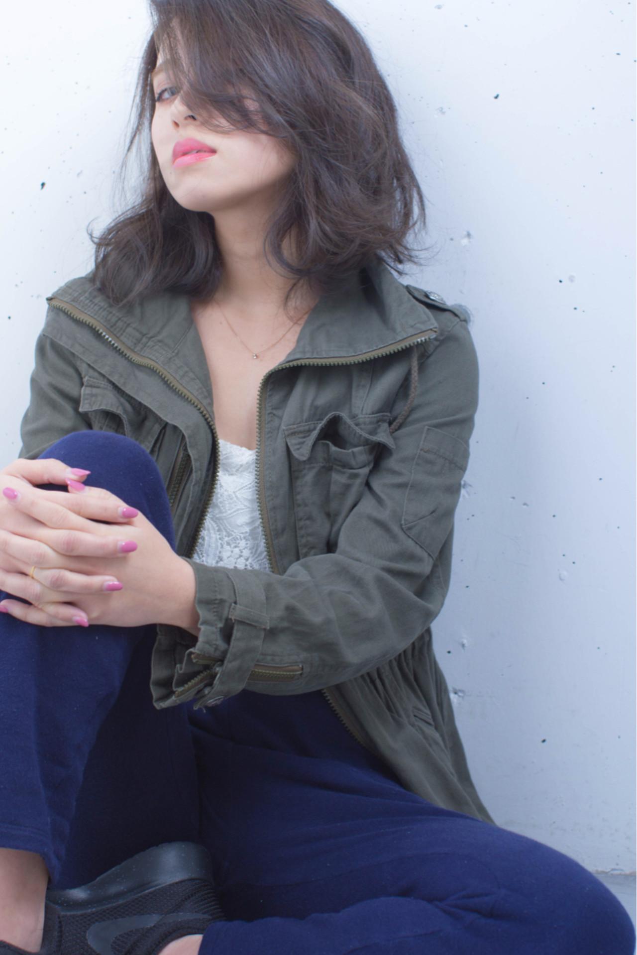 色気 こなれ感 小顔 大人女子 ヘアスタイルや髪型の写真・画像 | 長谷川 聖太 / sowi hair design  (ソーイ)