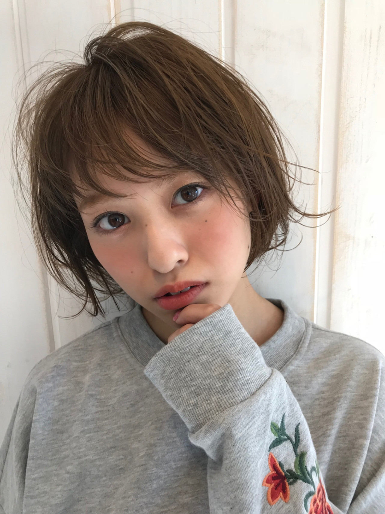 色気 抜け感 ショート 大人かわいい ヘアスタイルや髪型の写真・画像   Tierra / 町田雄一 / Tierra harajuku