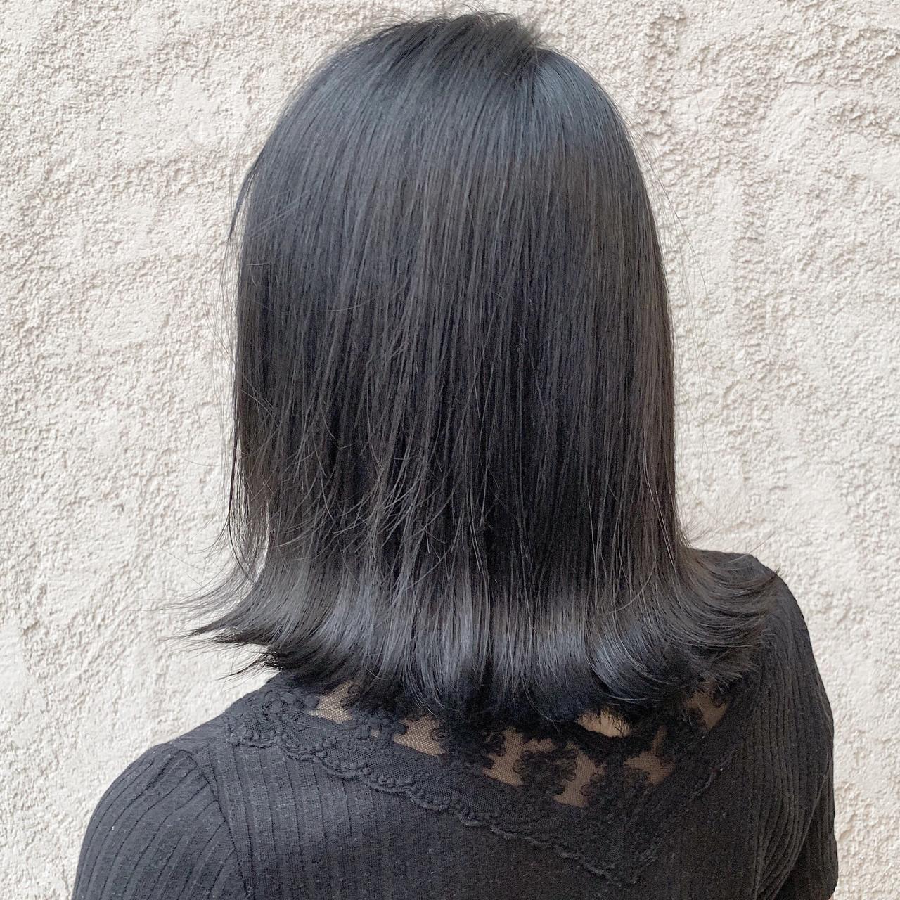 ボブ ナチュラル ブリーチなし 透明感カラー ヘアスタイルや髪型の写真・画像 | 川口楓也 / SALOWIN表参道