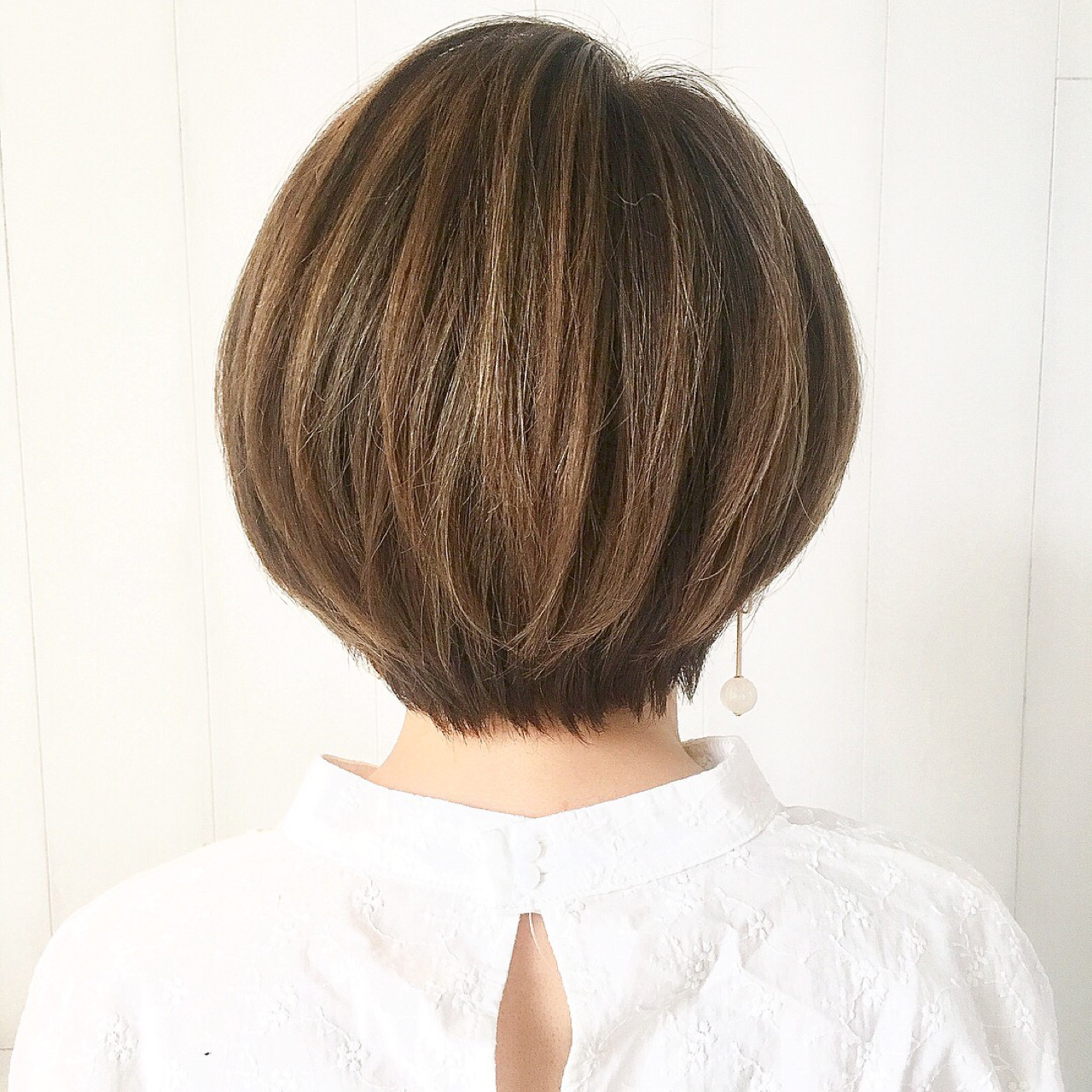 簡単ヘアアレンジ ヘアアレンジ ショート オフィス ヘアスタイルや髪型の写真・画像