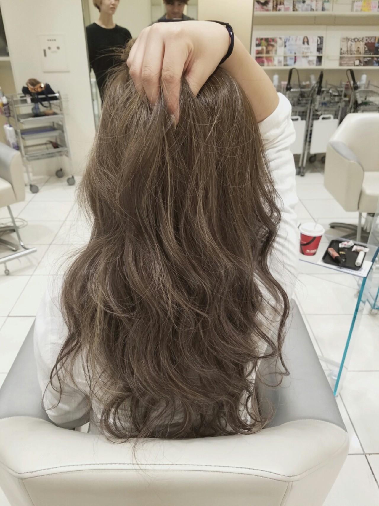 デート 上品 アッシュ エレガント ヘアスタイルや髪型の写真・画像