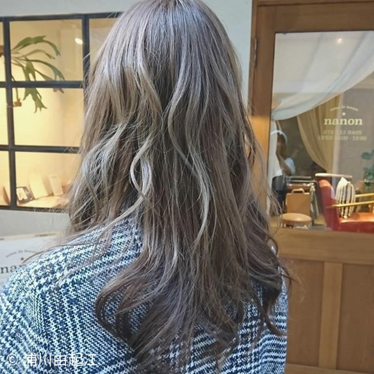 アンニュイほつれヘア ロング ゆるふわ デート ヘアスタイルや髪型の写真・画像