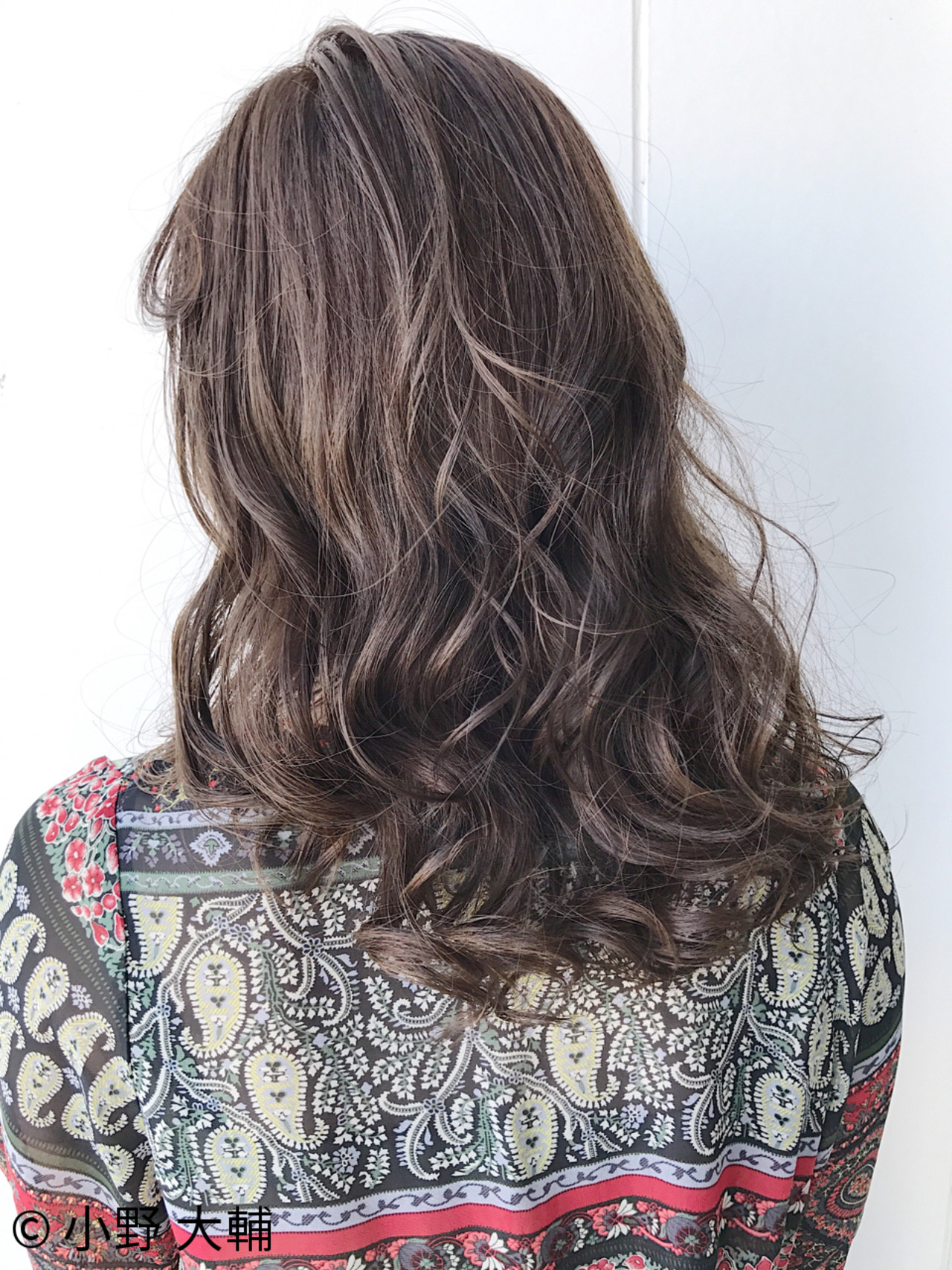 外国人風 外国人風カラー ミディアム 冬 ヘアスタイルや髪型の写真・画像