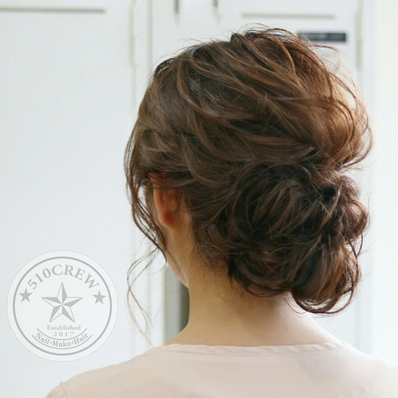 ゆるふわ ショート 大人かわいい エレガント ヘアスタイルや髪型の写真・画像 | 五嶋治紀 / BORDER.hair