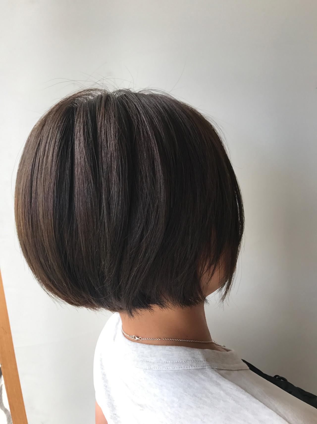 ショート アウトドア オフィス スポーツ ヘアスタイルや髪型の写真・画像 | Hiroさん / モリオフロムロンドン原宿本店