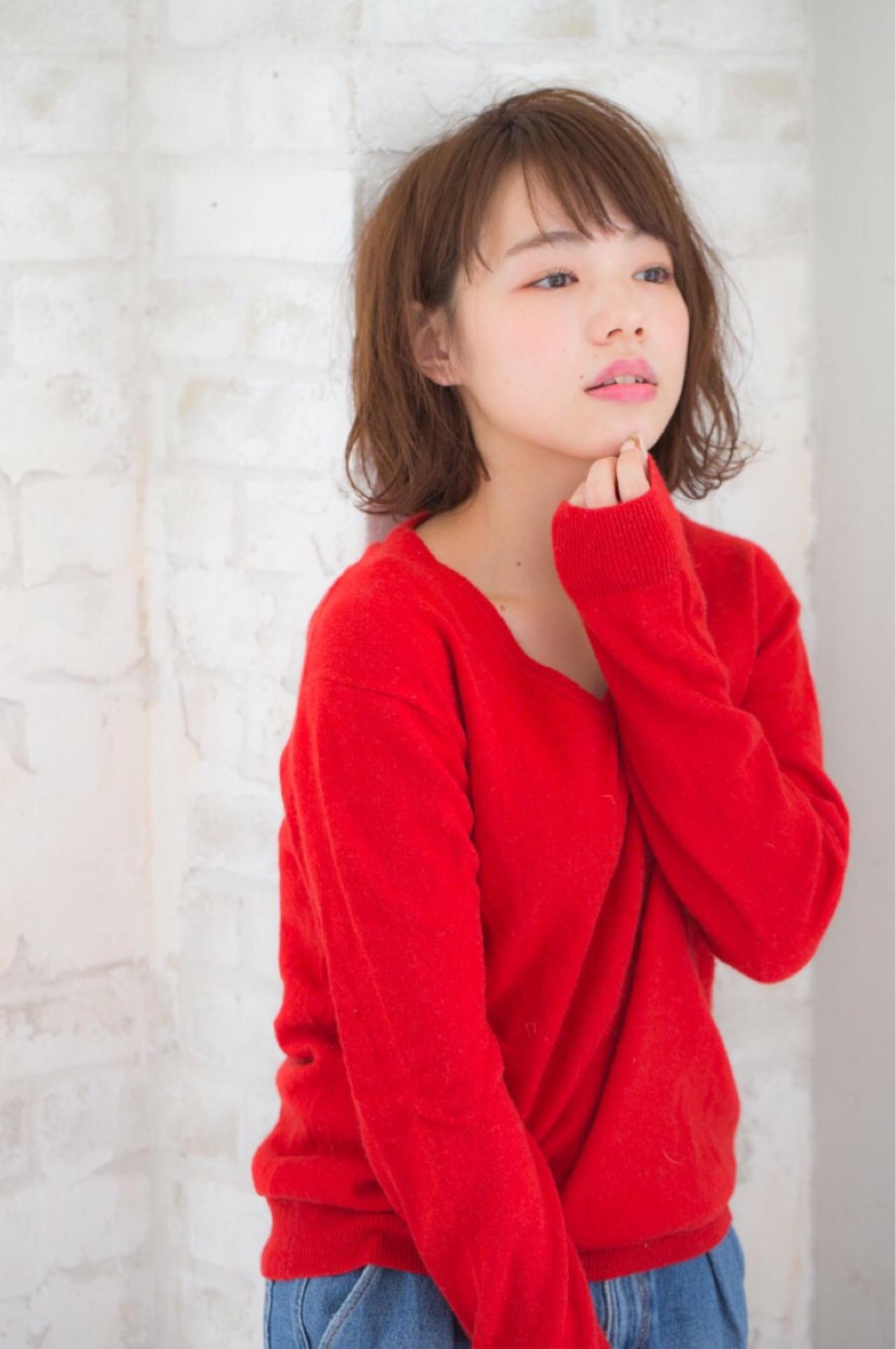 小顔 大人女子 黒髪 ニュアンス ヘアスタイルや髪型の写真・画像 | 赤井希望 / joemibyUnami