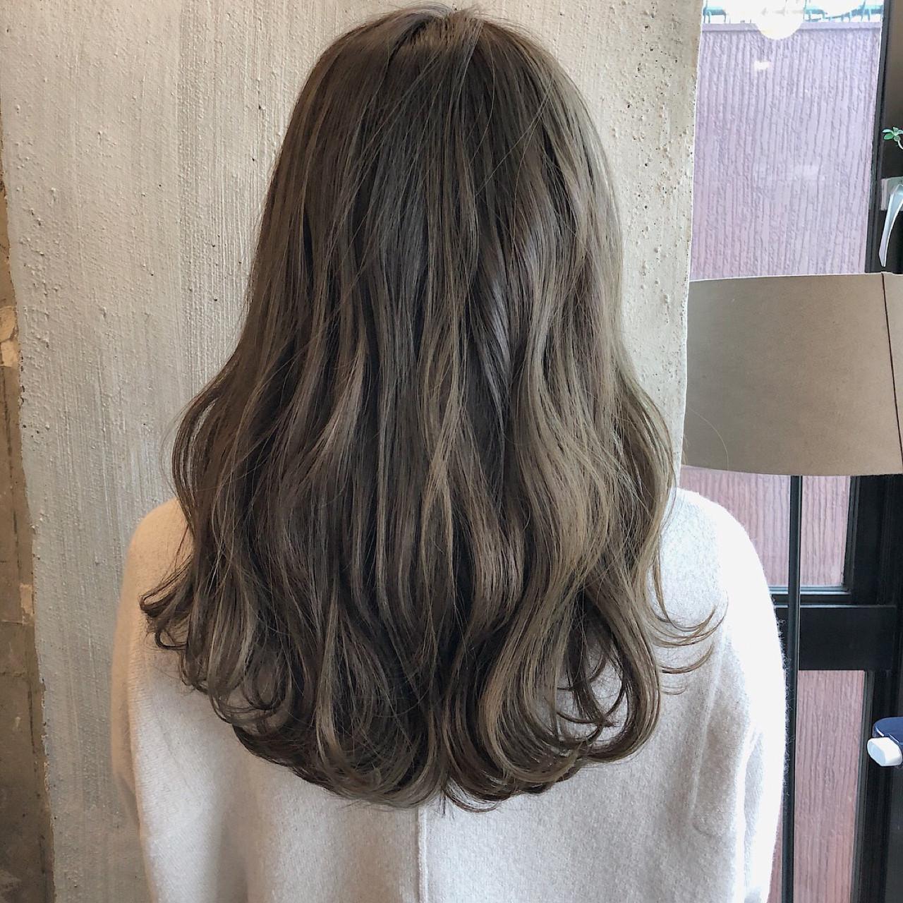 透明感 外国人風カラー 夏 オフィス ヘアスタイルや髪型の写真・画像