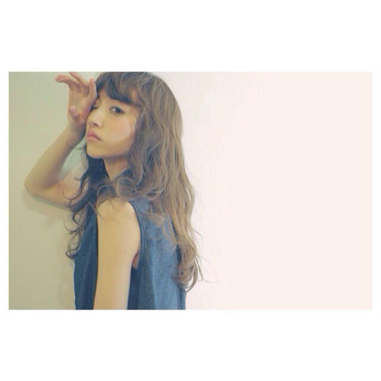 春 ストリート セミロング パンク ヘアスタイルや髪型の写真・画像 | 石元 歩唯 ( ishimoto ai ) /