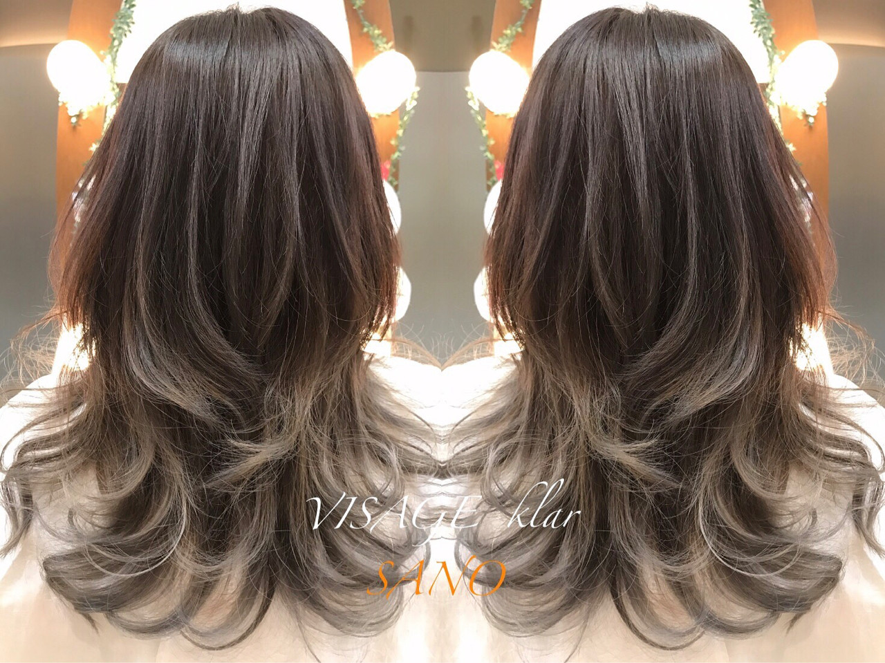 アッシュ 外国人風 グレージュ 外国人風カラー ヘアスタイルや髪型の写真・画像
