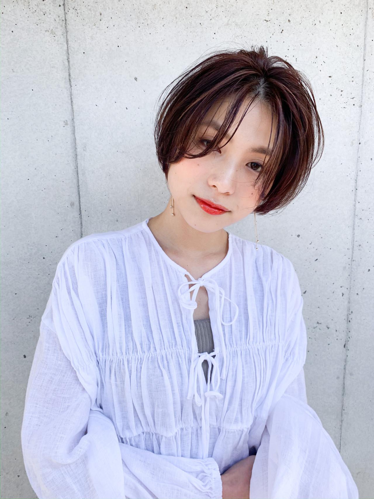 【面長顔×ショートヘア】コンプレックス解消♡似合わせカタログ