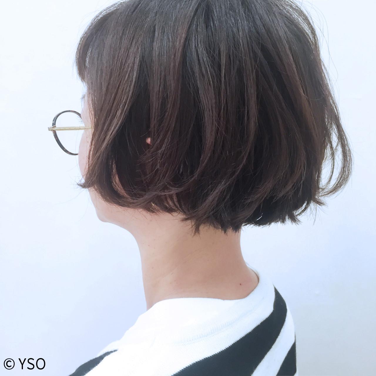 切りっぱなし 外国人風 ストリート 大人かわいい ヘアスタイルや髪型の写真・画像 | YSO / 電髪倶楽部street