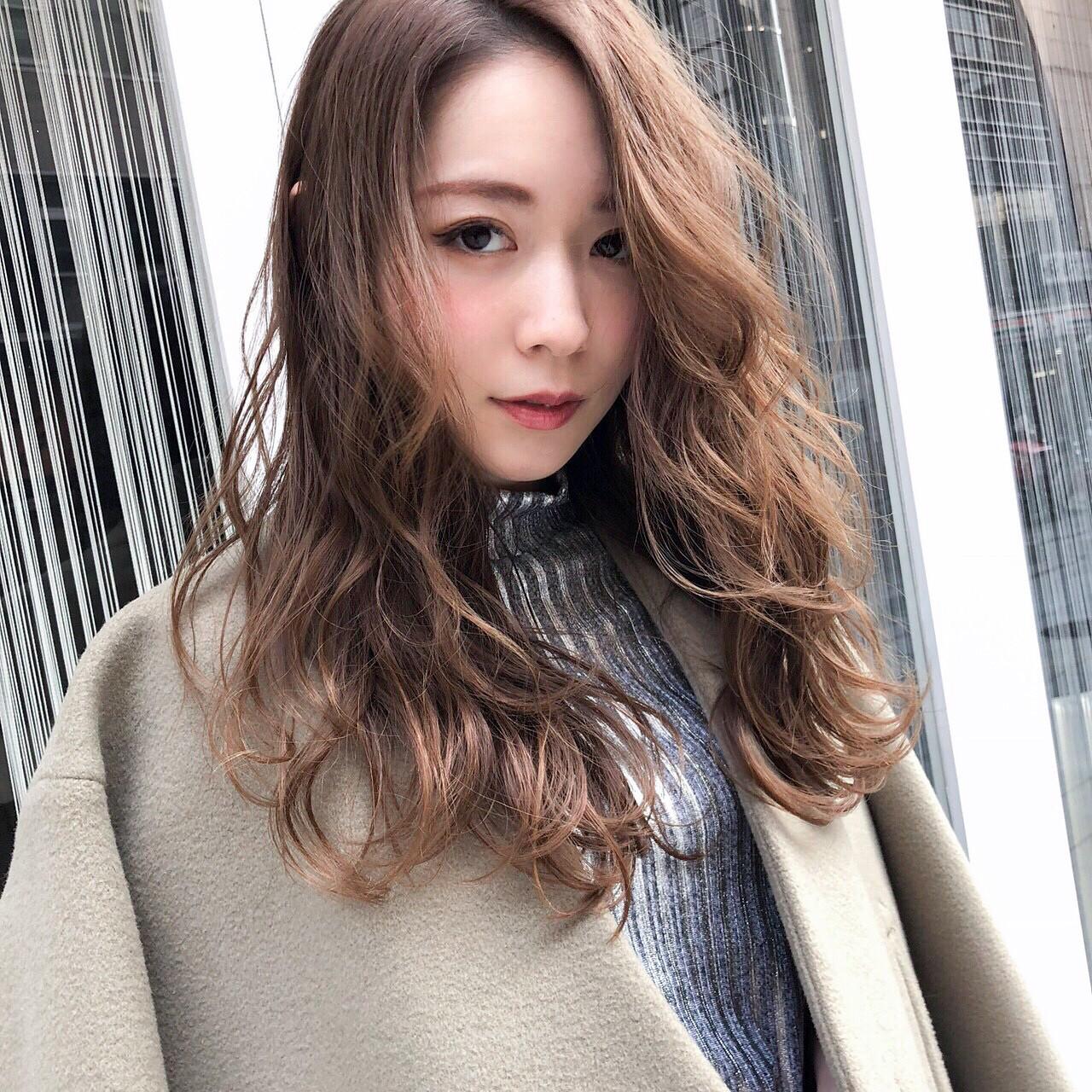大人かわいい 女子会 フェミニン 冬 ヘアスタイルや髪型の写真・画像