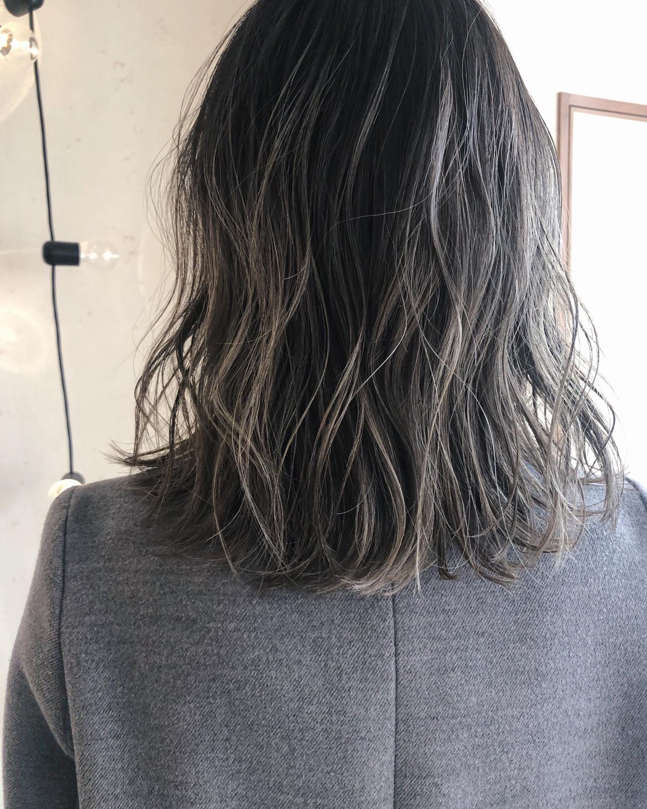 簡単ヘアアレンジ ナチュラル ミディアム ヘアアレンジ ヘアスタイルや髪型の写真・画像 | 原木翔太 / lufun hair design  ルファン