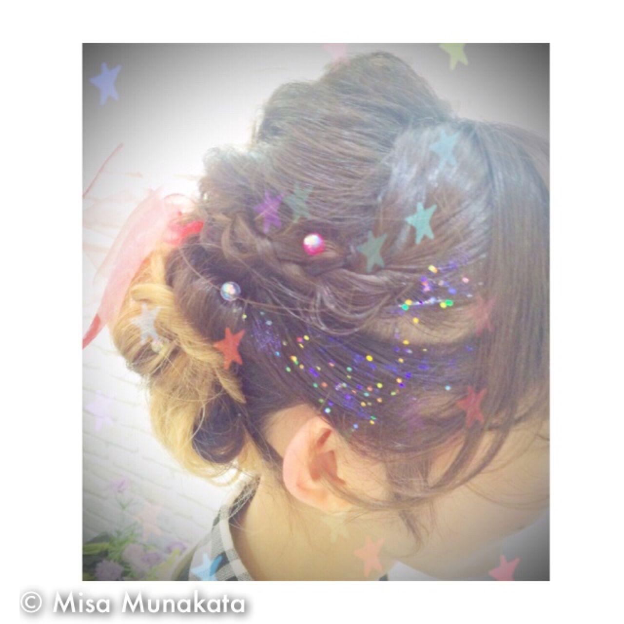 愛され ヘアアレンジ モテ髪 ガーリー ヘアスタイルや髪型の写真・画像