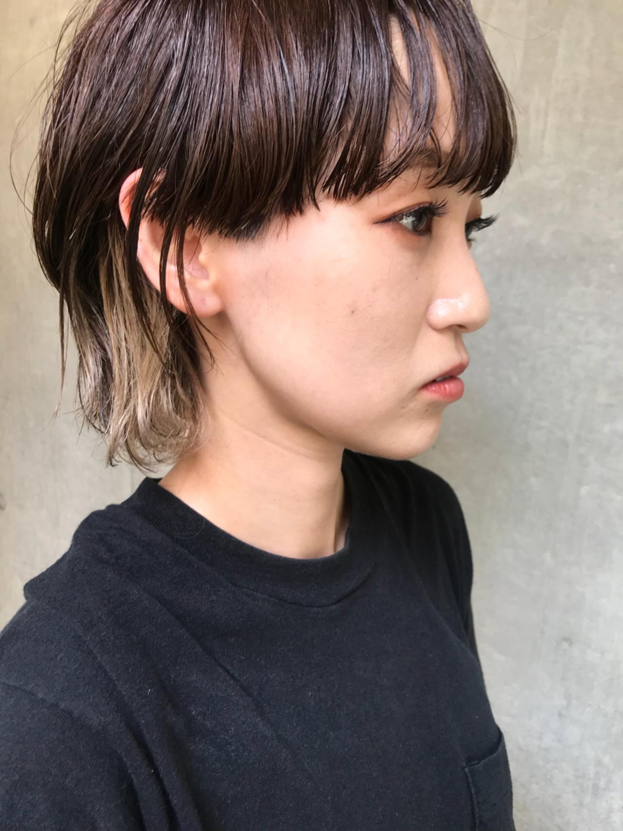 モード 涼しげ アウトドア デート ヘアスタイルや髪型の写真・画像 | bibito crew / bibito
