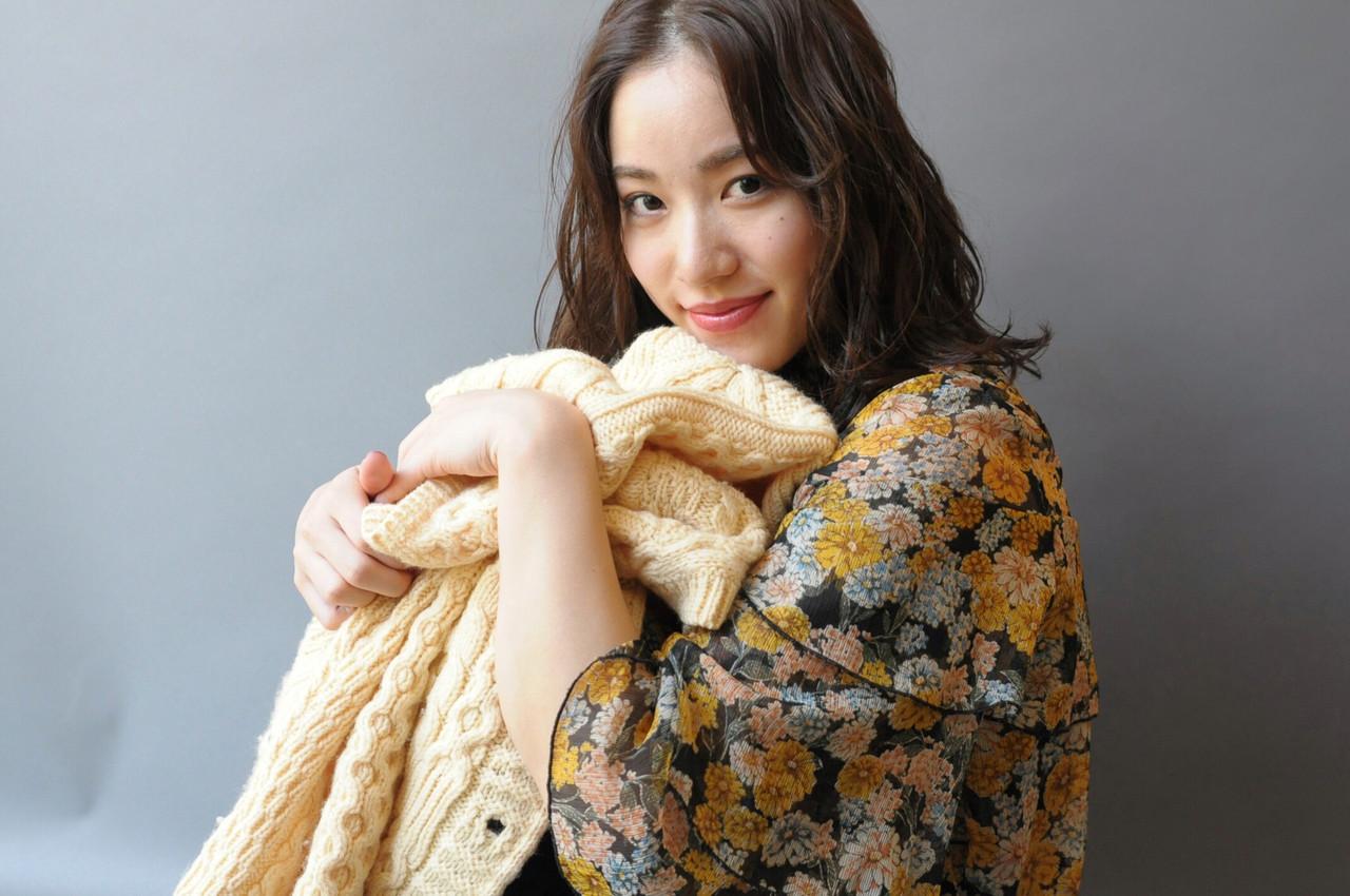 ナチュラル パーマ N.オイル ミディアム ヘアスタイルや髪型の写真・画像   成田沙也加 / tricca Daikanyama