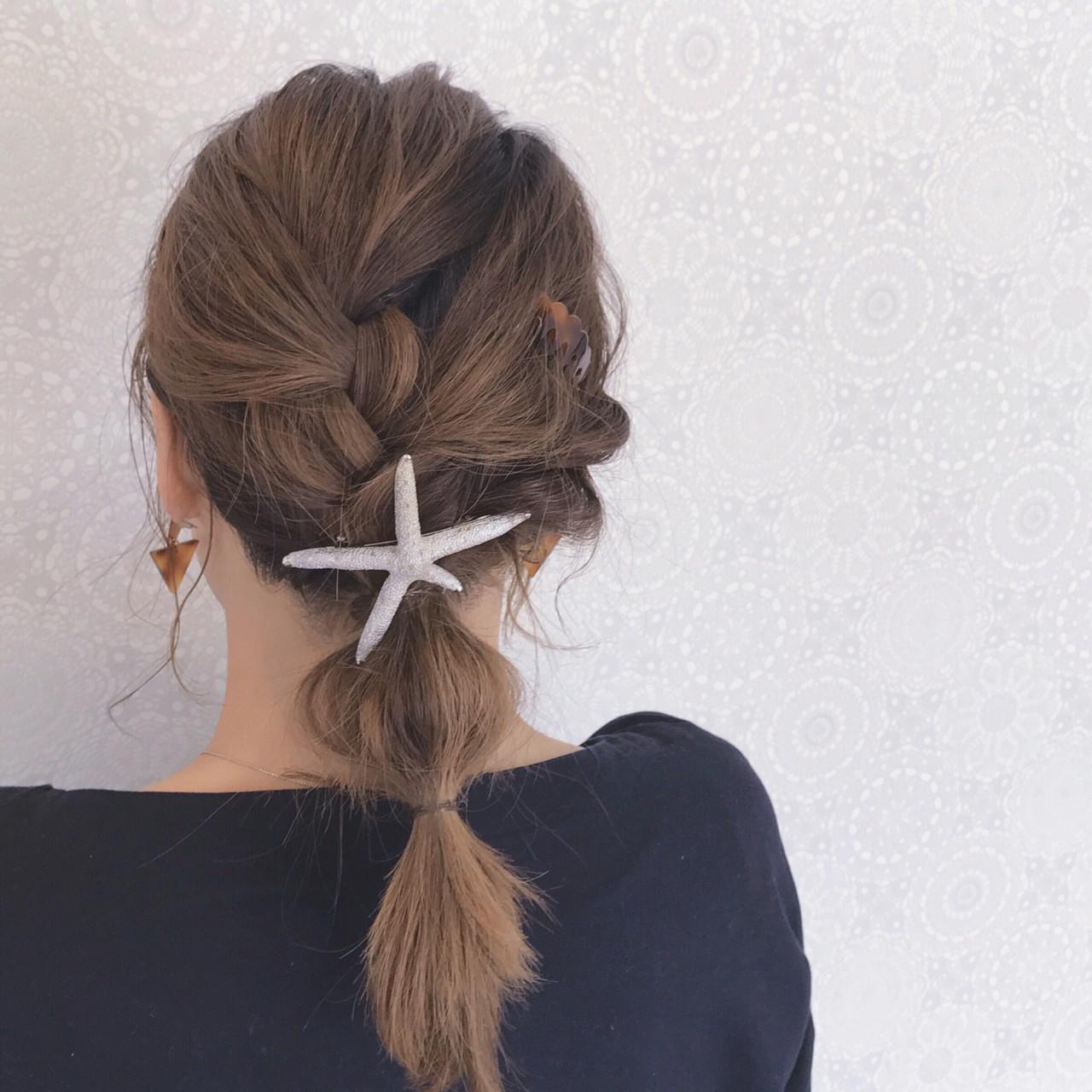 セミロング ガーリー 大人かわいい イルミナカラー ヘアスタイルや髪型の写真・画像 | 石井美那 / BERA g hair