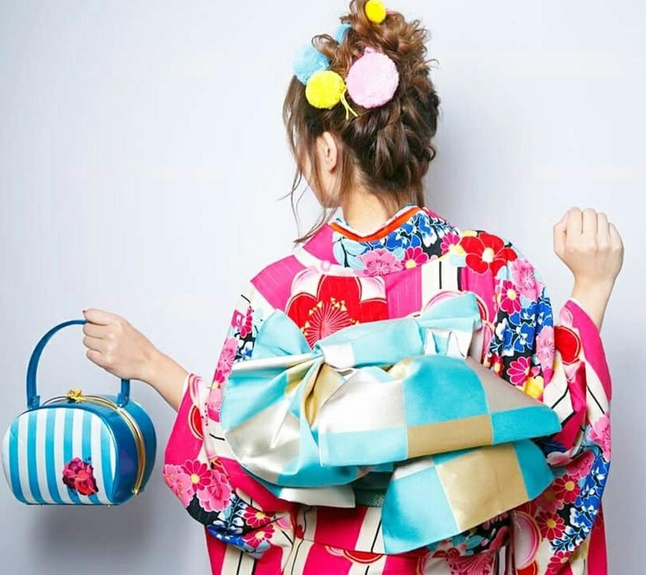 ガーリー アップスタイル 結婚式 謝恩会 ヘアスタイルや髪型の写真・画像   Kanagon / Beauty Salon nagomi