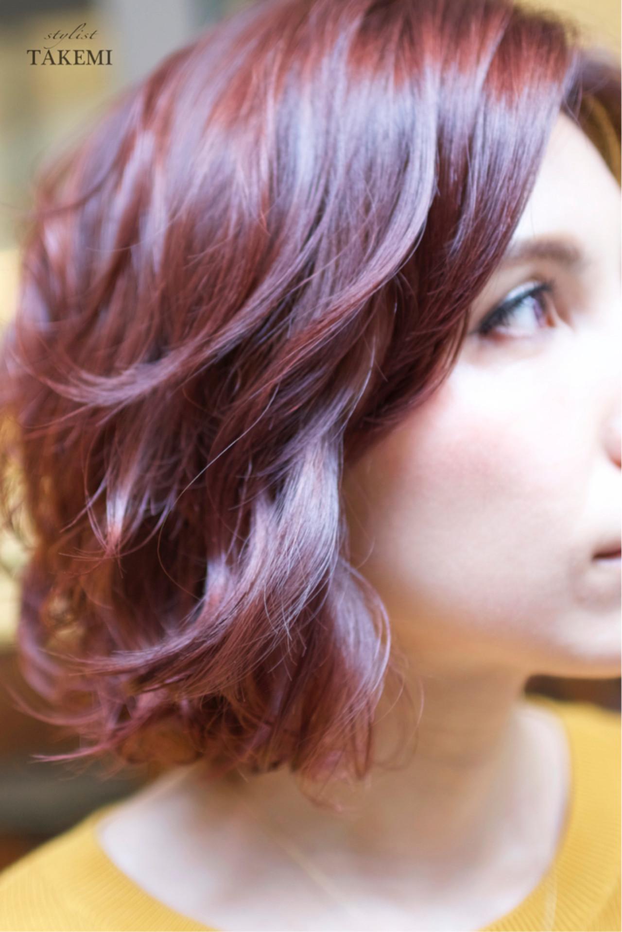 ダブルカラー グラデーションカラー 外国人風カラー ガーリー ヘアスタイルや髪型の写真・画像 | TAKEMI / BEBE 表参道
