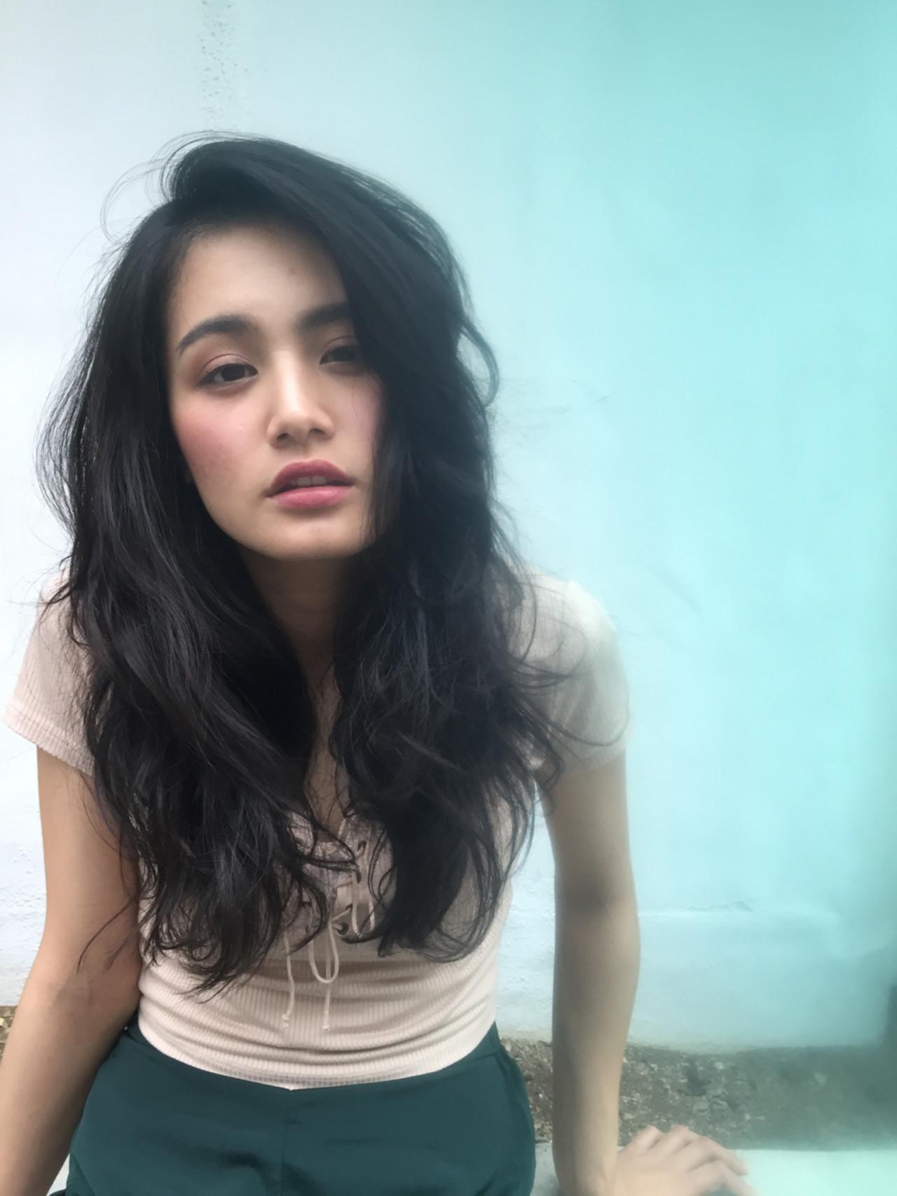 ニュアンス ストリート アッシュ 外国人風 ヘアスタイルや髪型の写真・画像