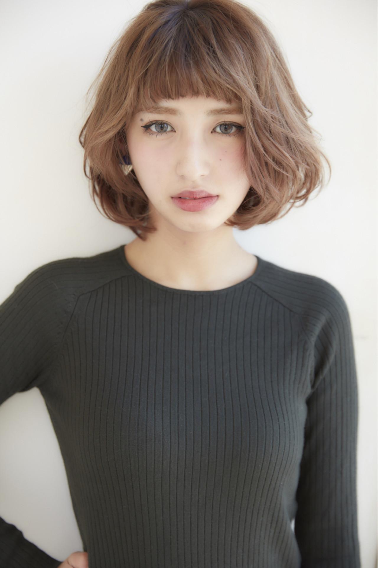 大人気のボブスタイルです☆ よかったらご参考ください(*^^*)