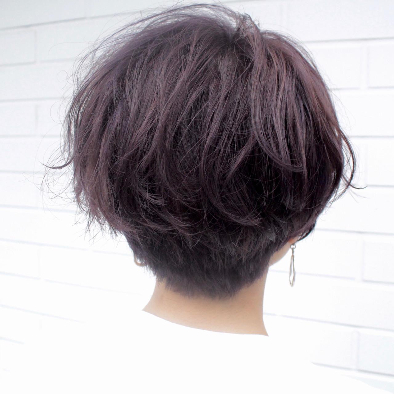 ハンサムショート ショートバング ショートヘア ショートボブ ヘアスタイルや髪型の写真・画像 | 【ショート&ショートボブはお任せください】淺川聖 / parc sapporo