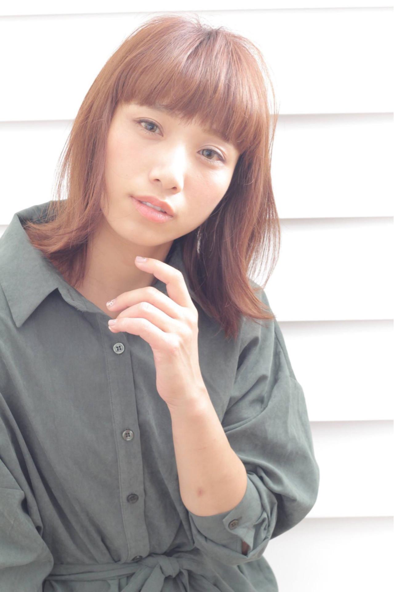 アッシュ ナチュラル パーマ 外国人風 ヘアスタイルや髪型の写真・画像