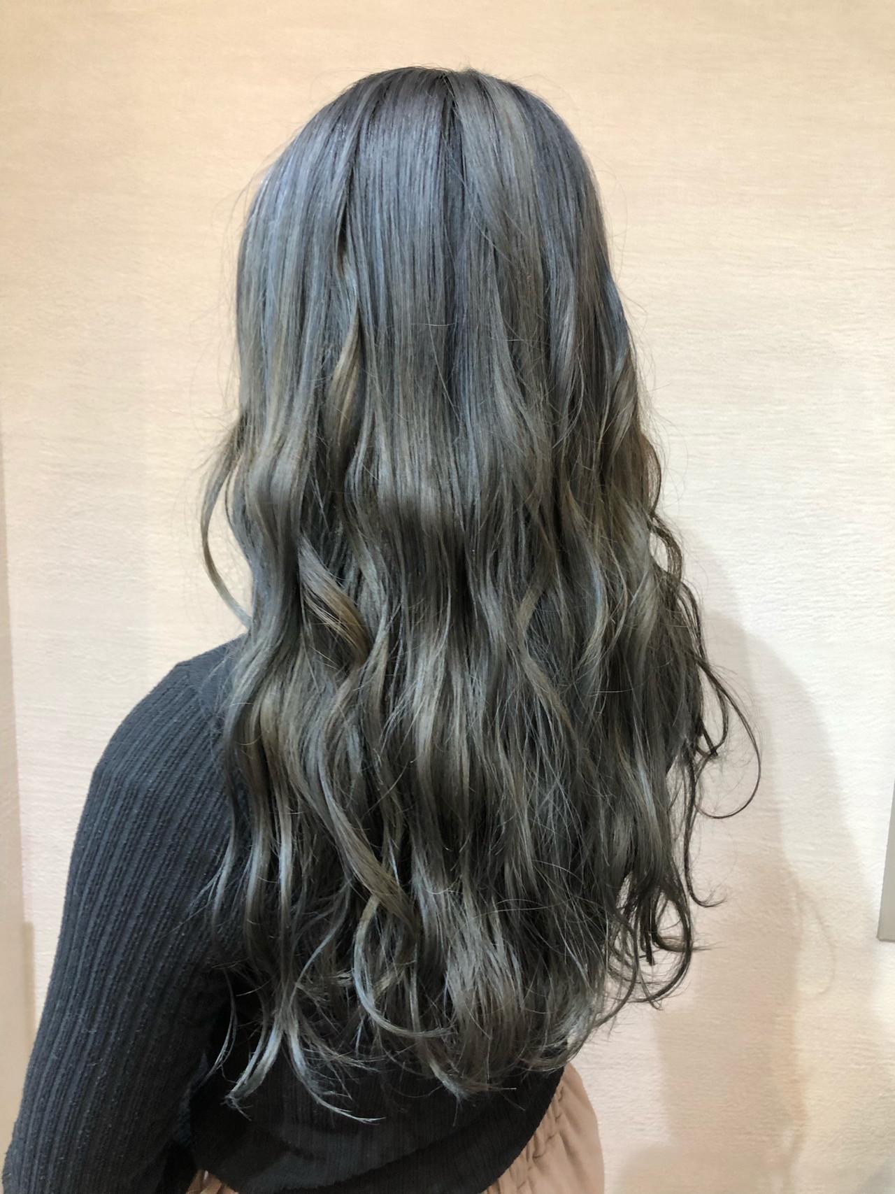 モード ロング ヘアスタイルや髪型の写真・画像 | 高木 一充 / Guest by Dbest 関内駅南口店